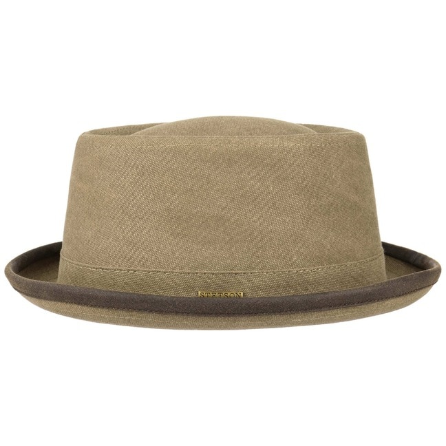 Cappello Canvas Pork Pie by Stetson - 69 f9dd2f5d6e4f