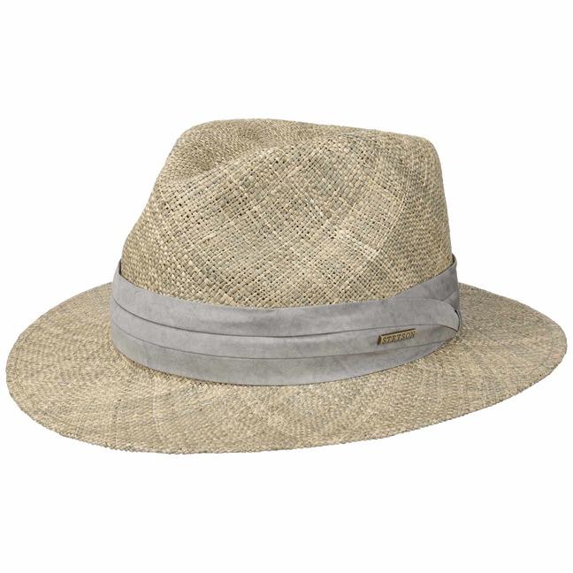 Cappello di Paglia Caney Seagrass by Stetson - 79 d35b743da2eb