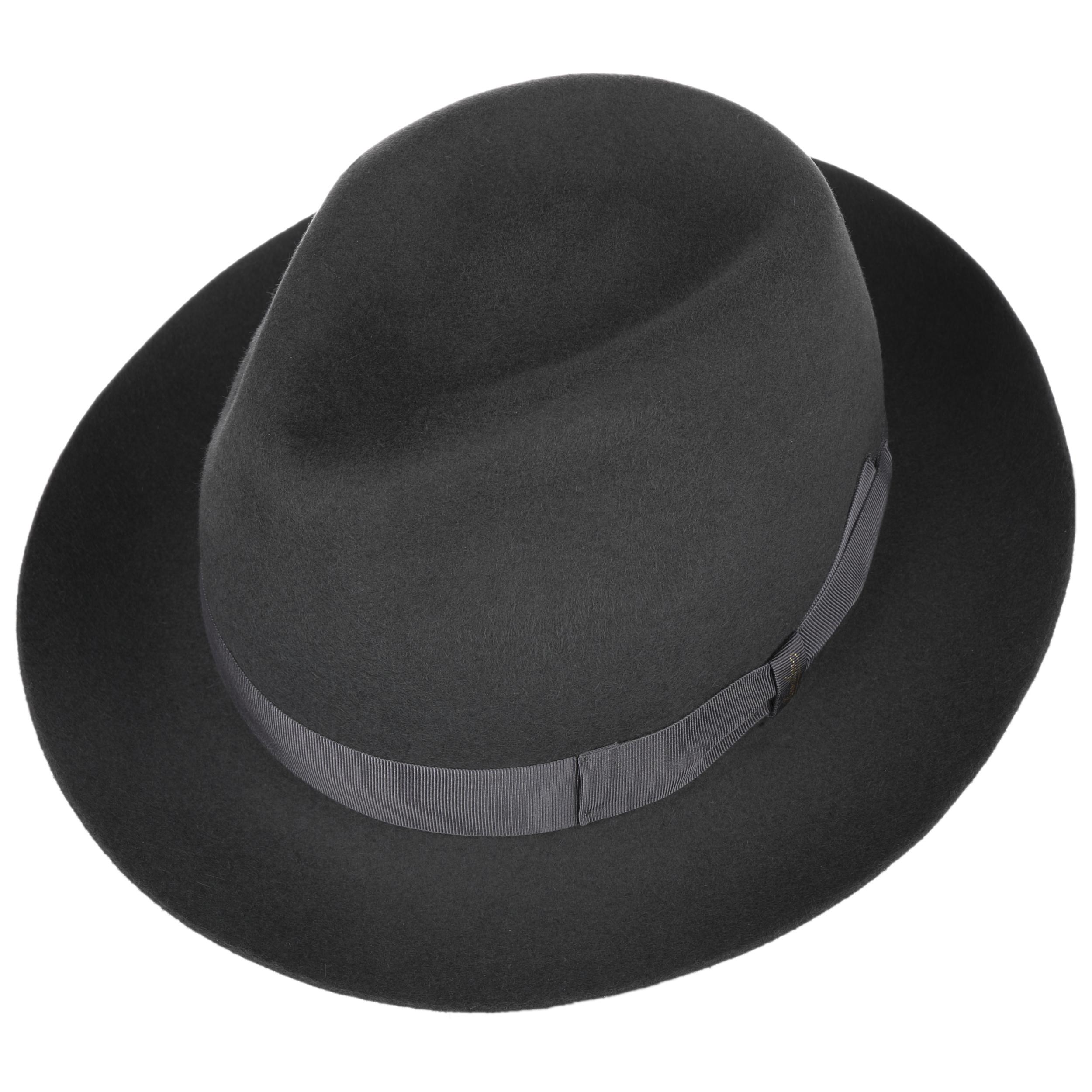 Cappello Uomo in Feltro u Marengo Modello: 490025 Nero Borsalino
