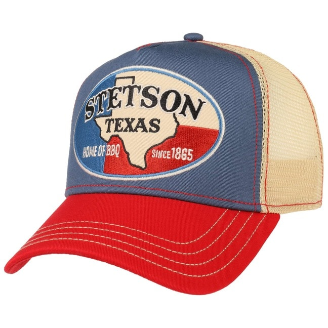 Cappellino Trucker Texas Home of BBQ by Stetson - 29 5bcef22598df