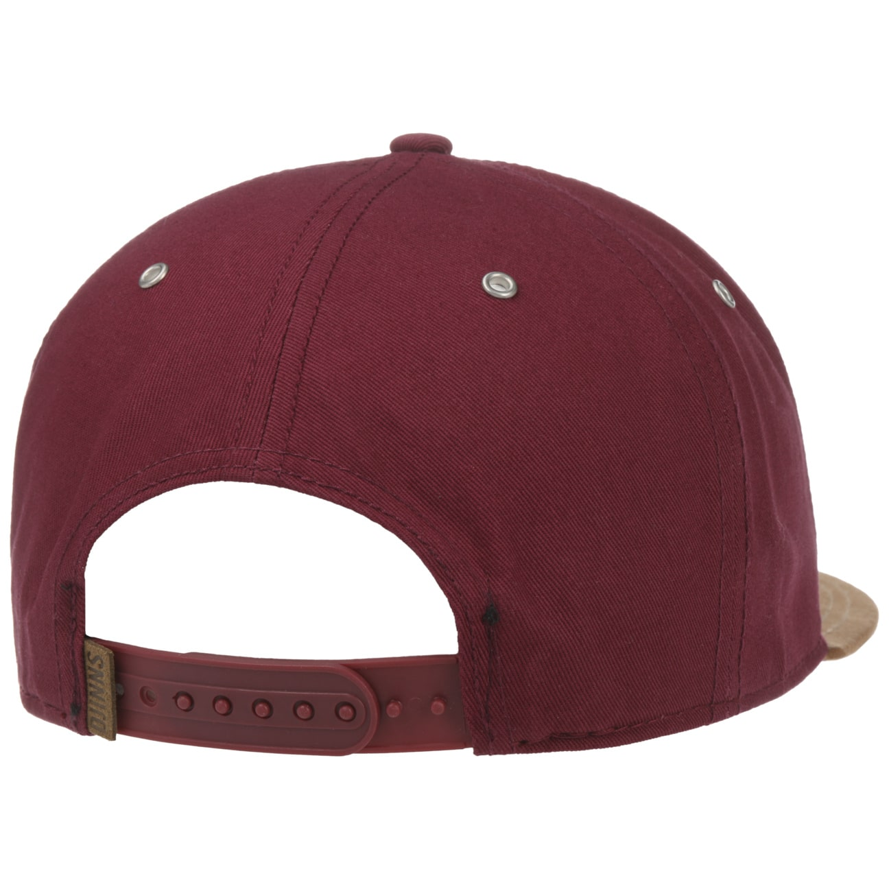 ... 6 Panel Canvas Snapback Cap by Djinns - rosso 2 ... ef3be00a6990