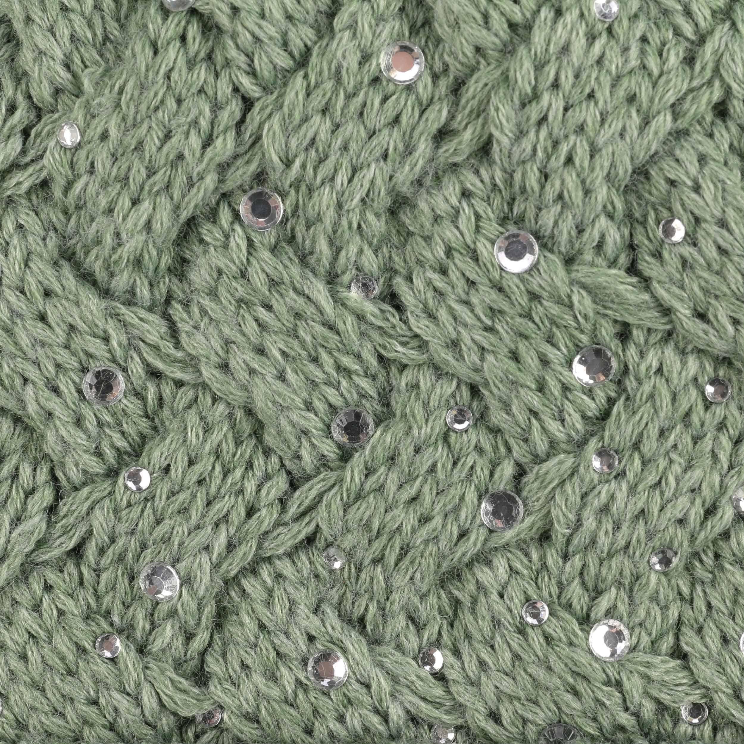 ... Alice Luxury Berretto con Pompon by Eisbär - verde 2 ... edca6a46de40