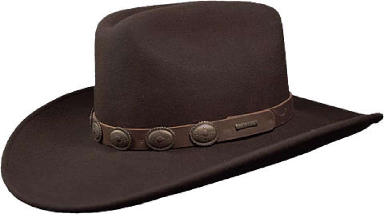 ... Baird Cappello VitaFelt Cowboy by Stetson - marrone 1 ... c87e1fb05e9