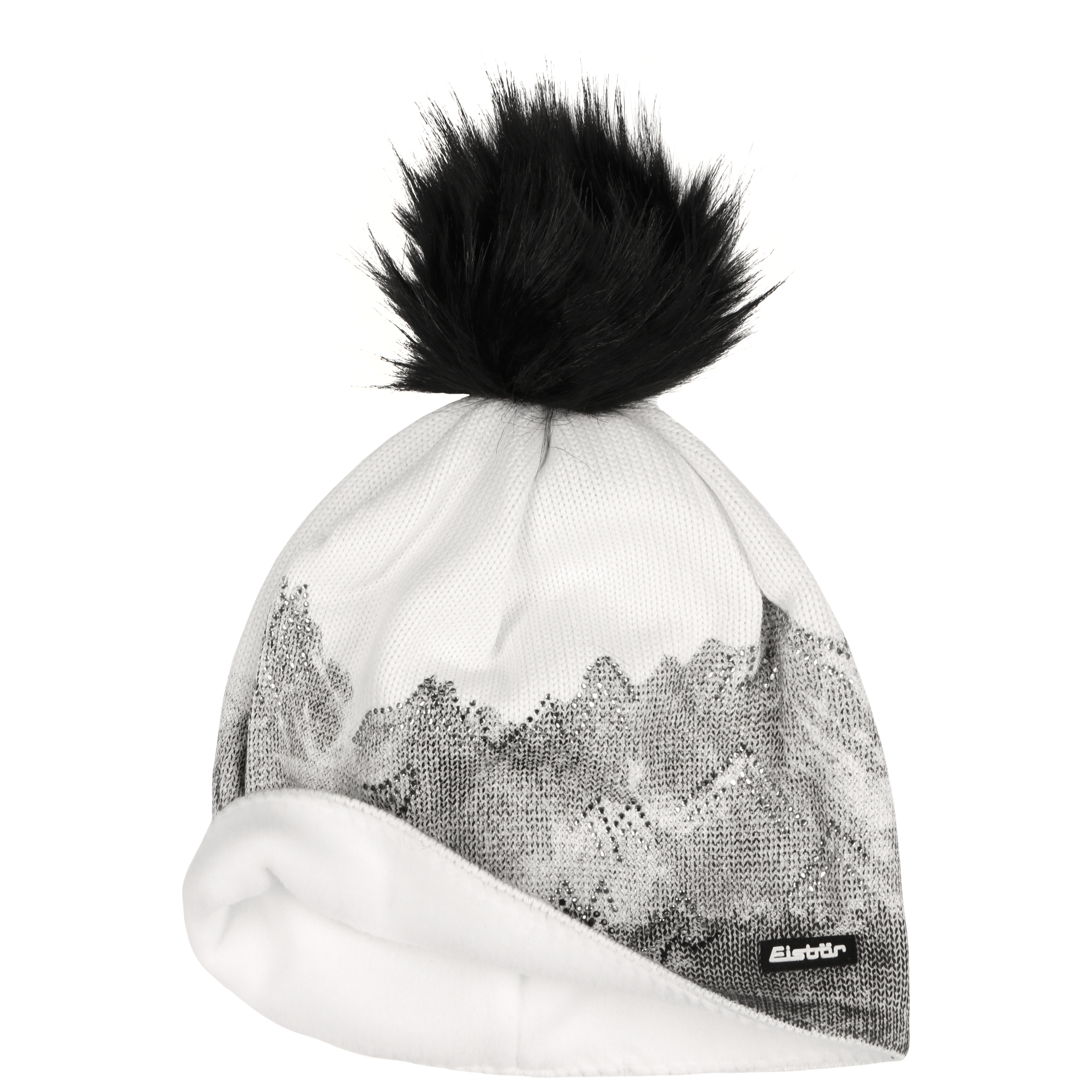 Beanie Draw Lux Crystal Mountain by Eisbär - antracite 1 ... 609c35ec3eb7