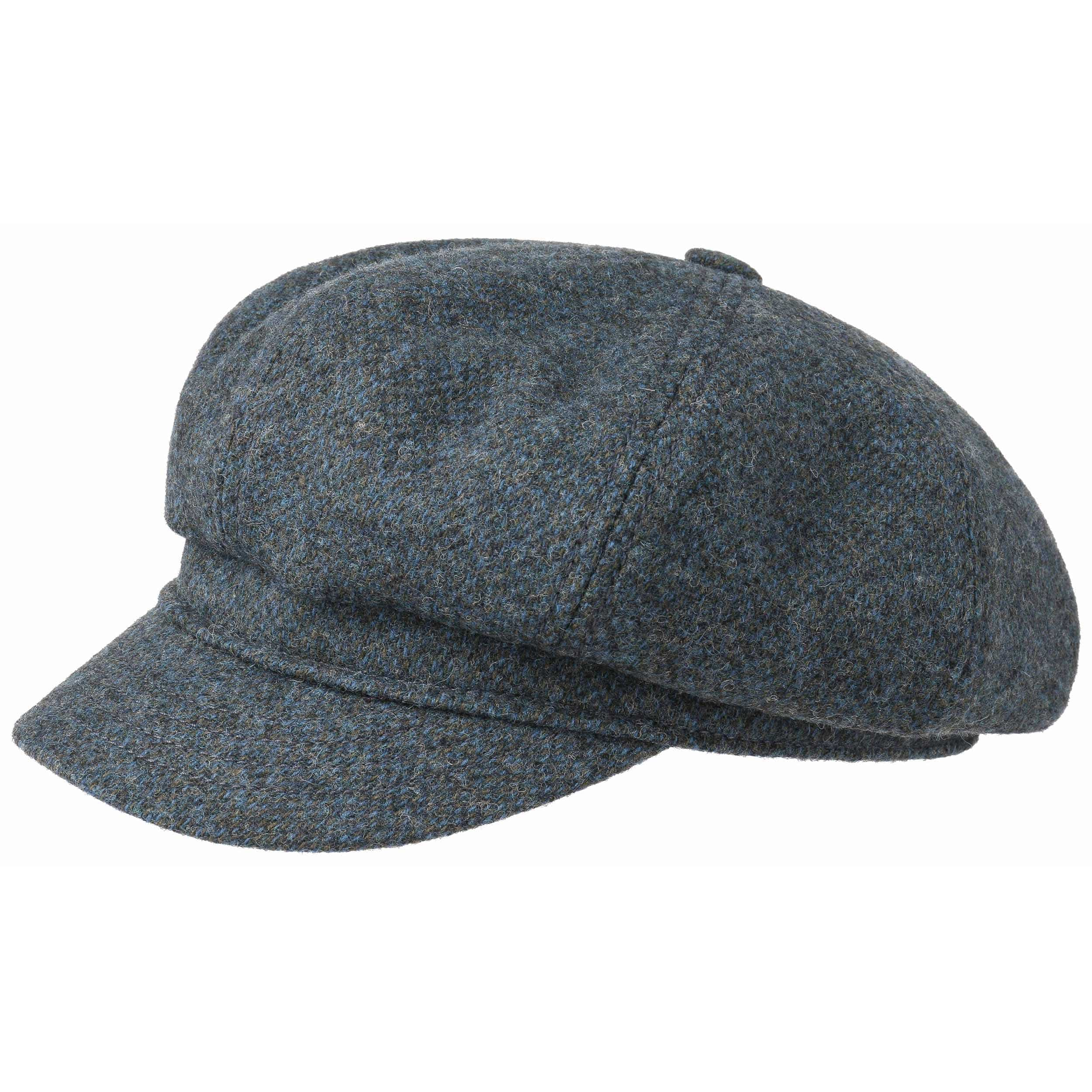 ... Berretto 8-Panel Woolrich by Stetson - blu 1 ... 725378fa9413