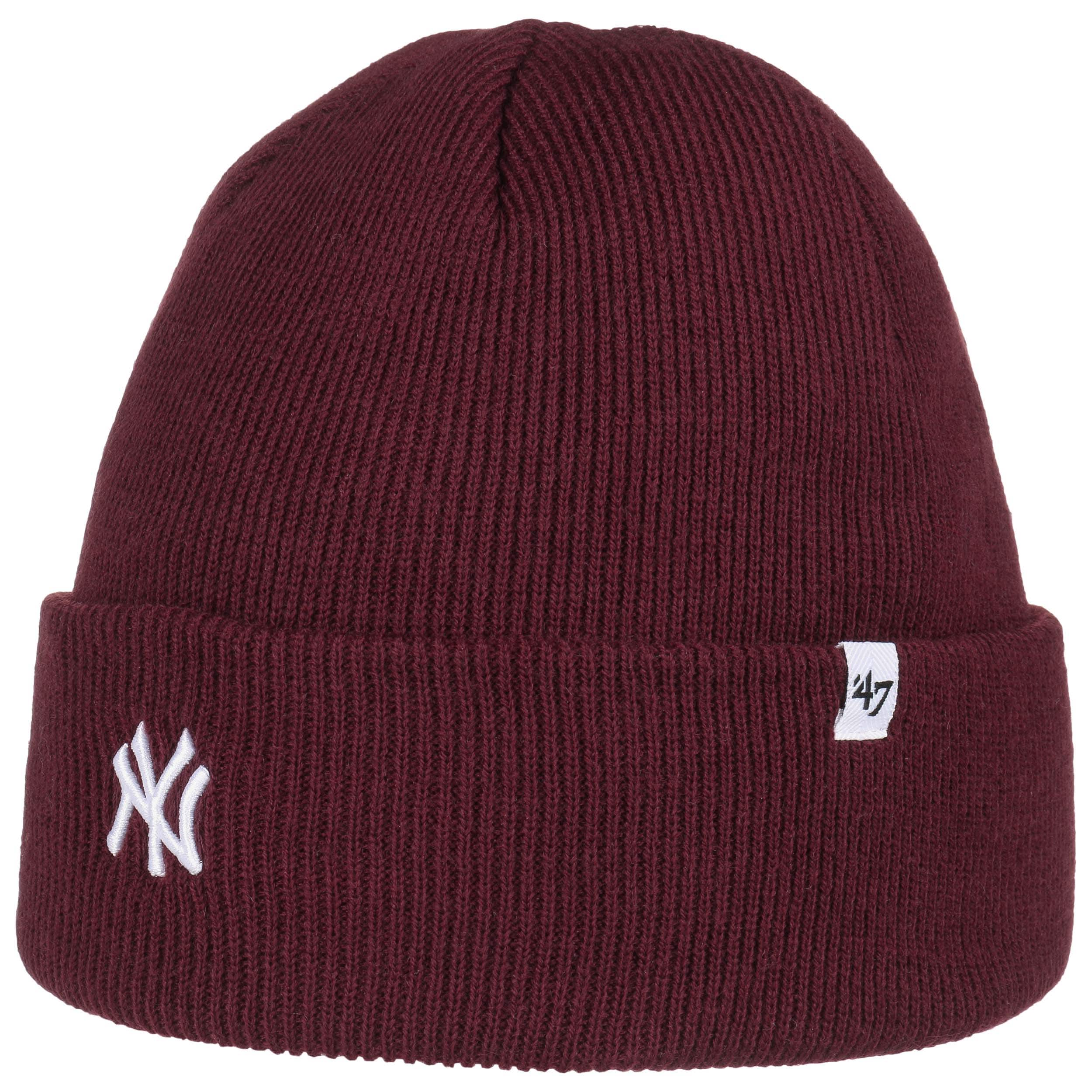 ... Berretto Beanie Centerfield Yankees by 47 Brand - rosso bordeaux 3 ... ed95f822976a