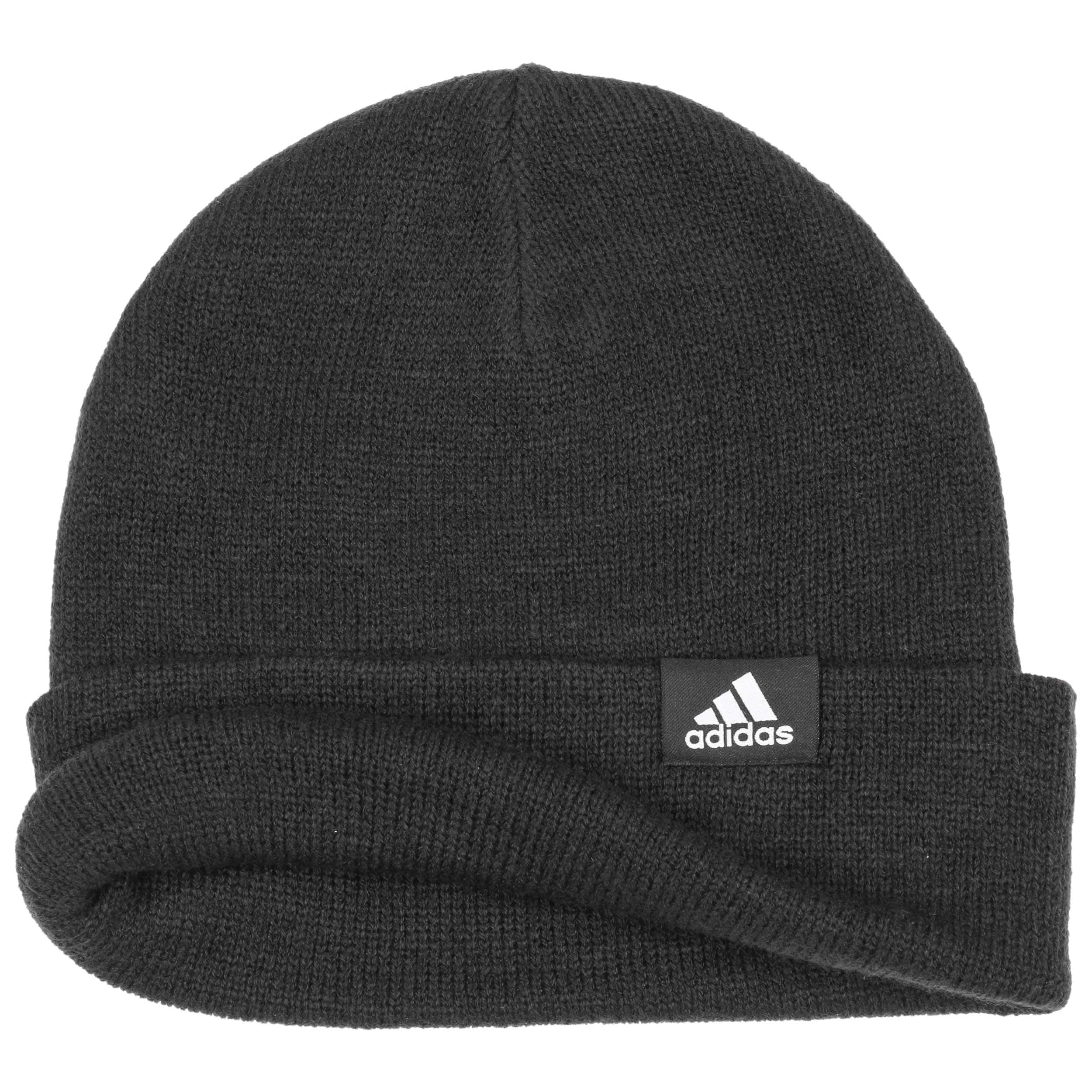cappello nero adidas invernale