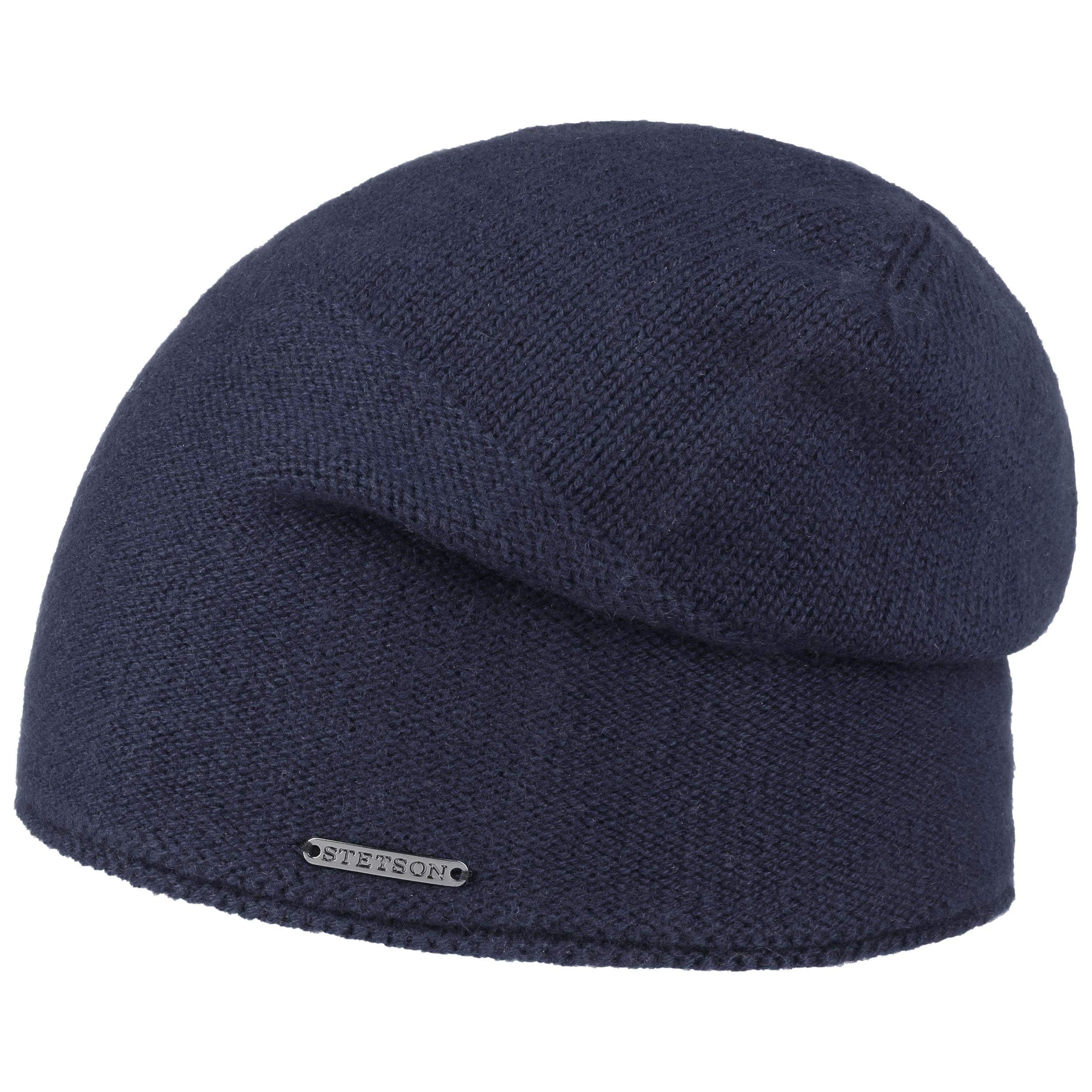 ... Berretto Cashmere Oversize by Stetson - blu scuro 1 ... 18310255ad0f