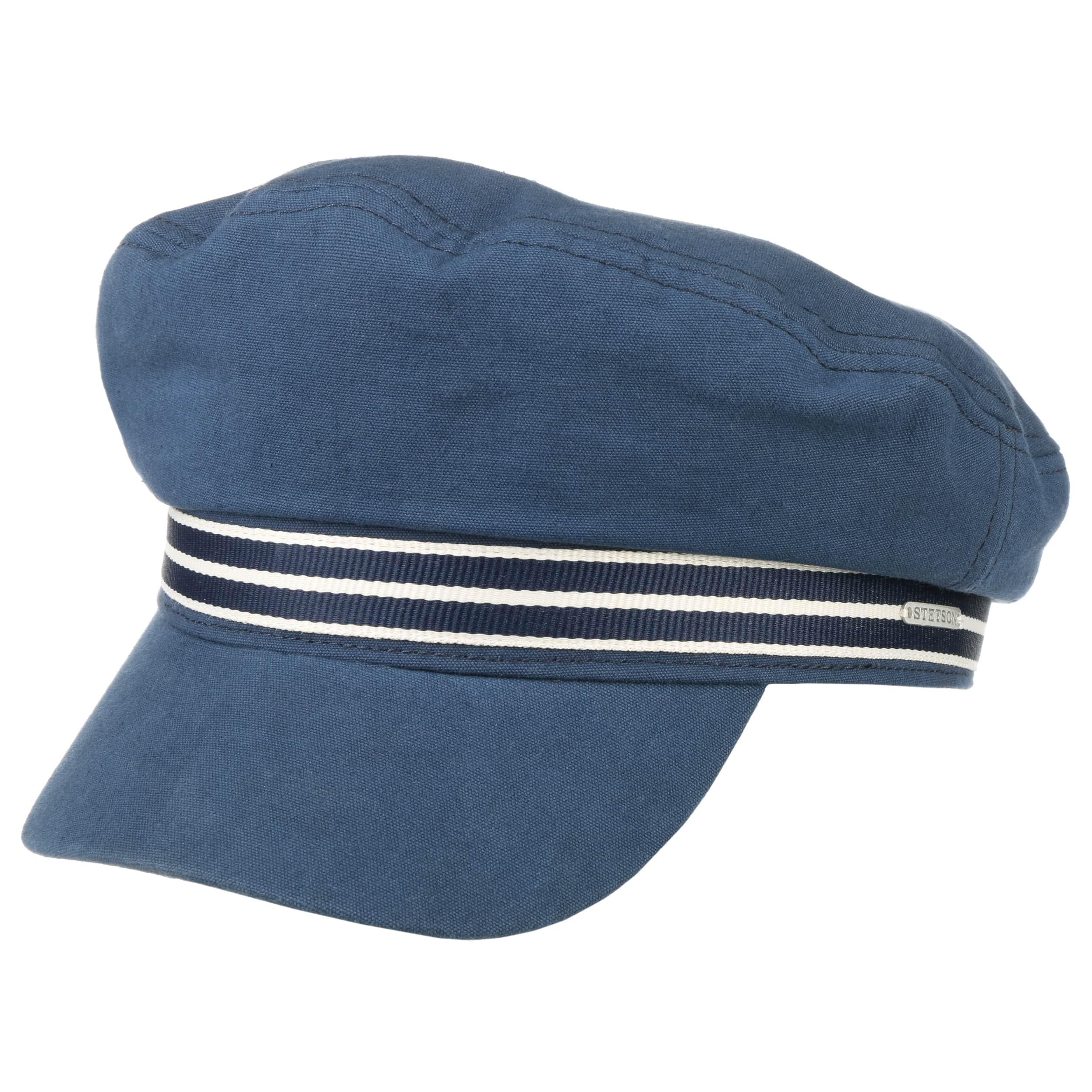 ... Berretto Marinaio Canvas Fisherman by Stetson - blu scuro 5 387541ea2fb4