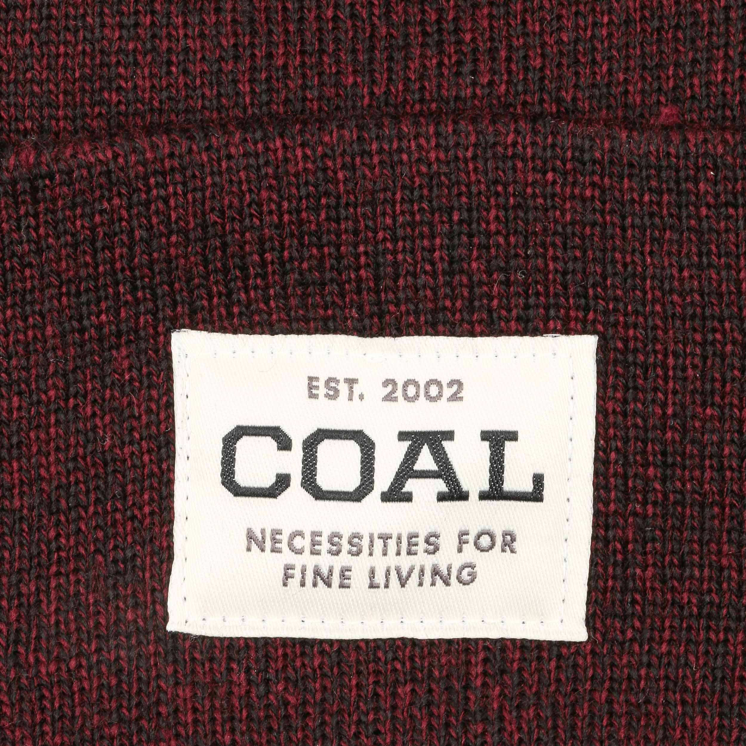 ... Berretto con Risvolto Uniform Beanie by Coal - rosso bordeaux 2 ... ac449f334ed6
