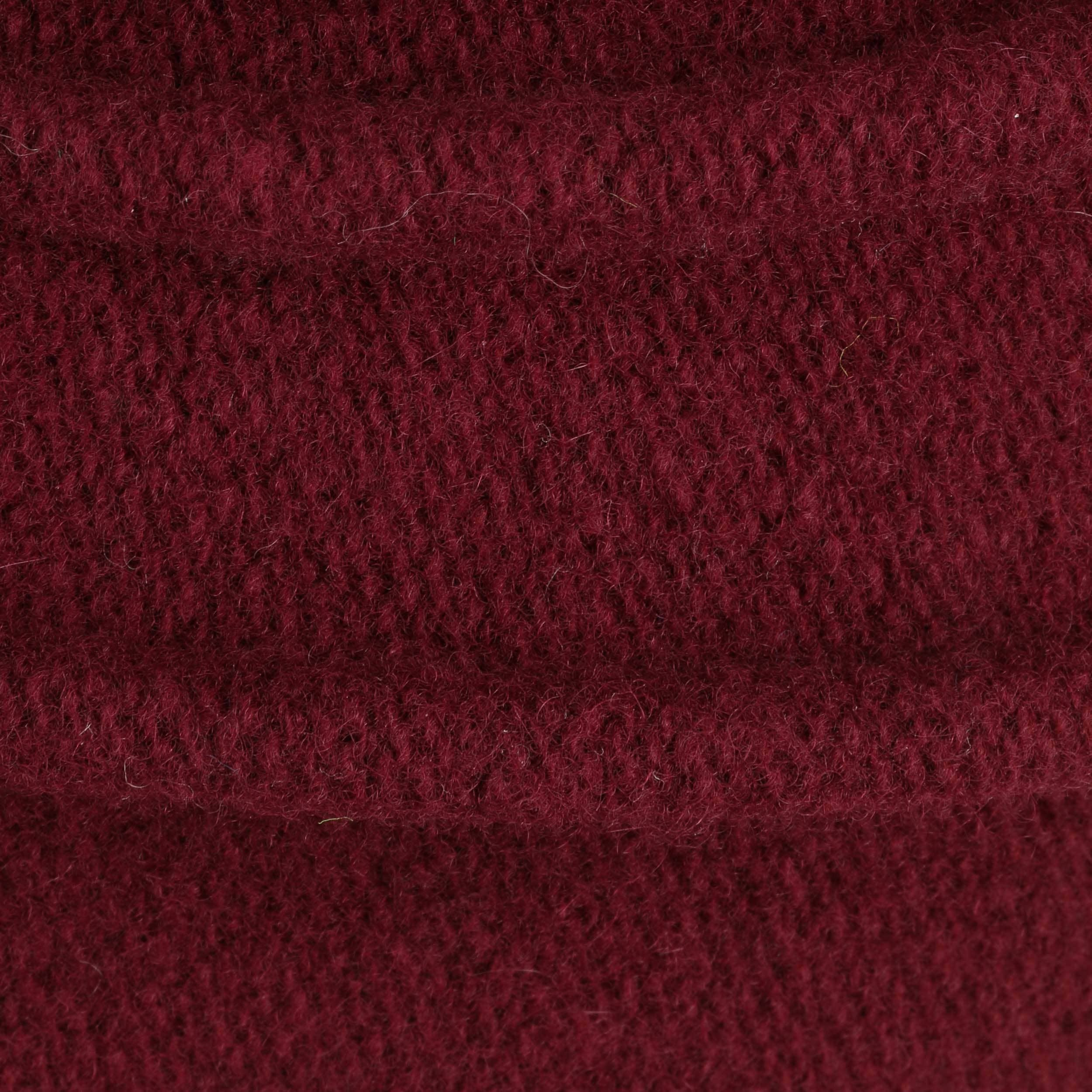 ... Berretto in Lana Follata Slouchy by McBURN - rosso bordeaux 4 ... 03e0ca8139f6
