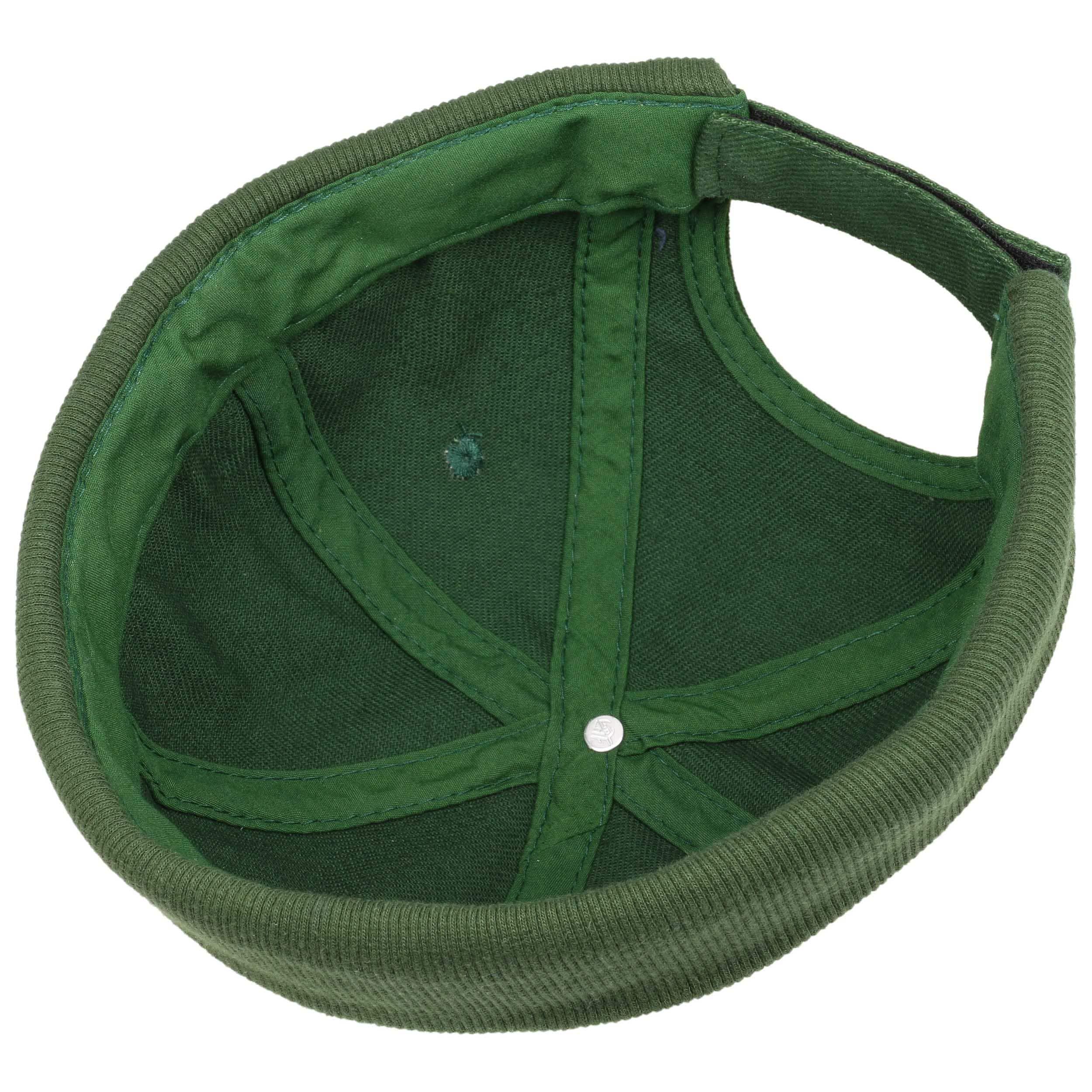 ... Calotta in Cotone Docker Cap - verde scuro 2 ... 90b8006dab88