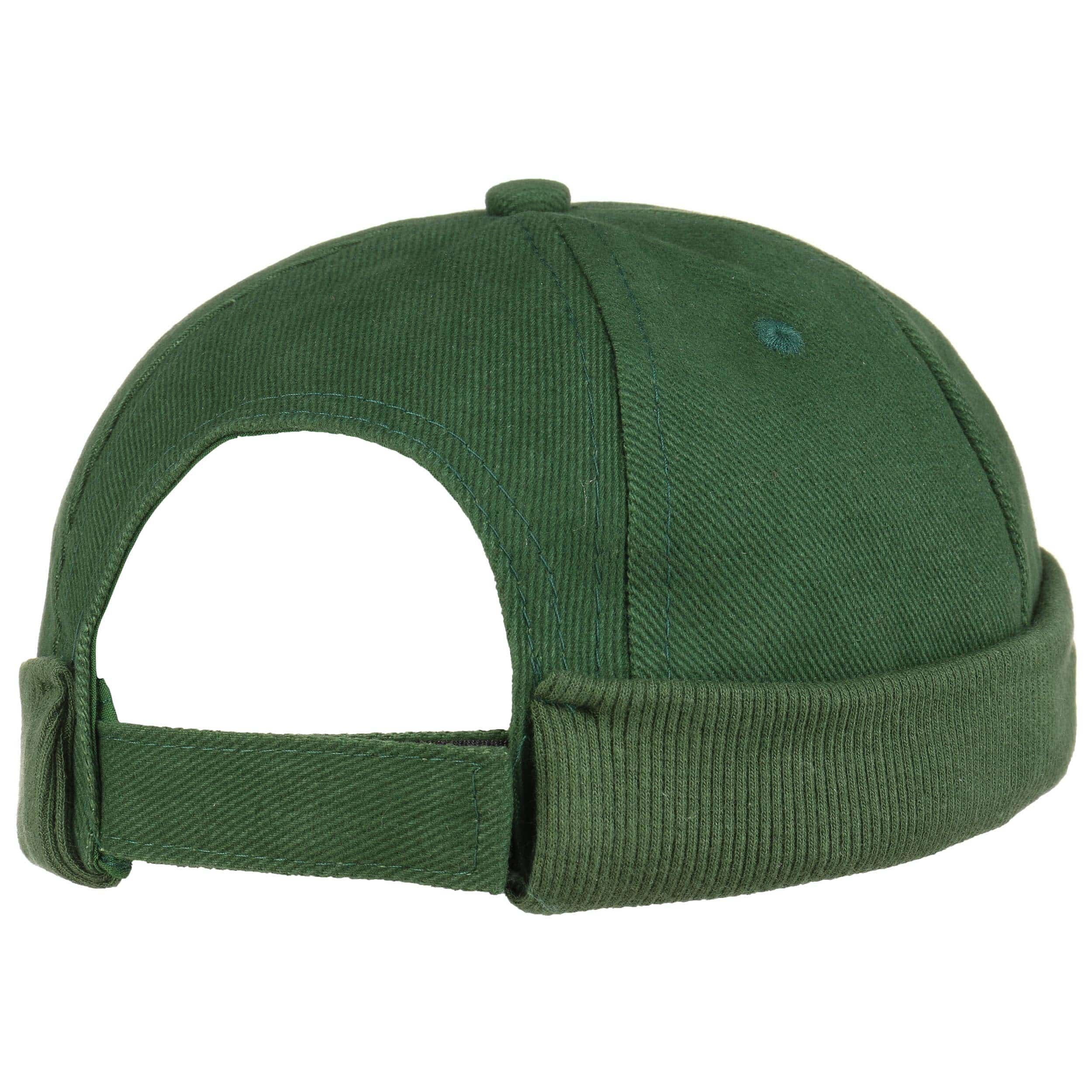 ... Calotta in Cotone Docker Cap - verde scuro 3 ... 82f20710b76c
