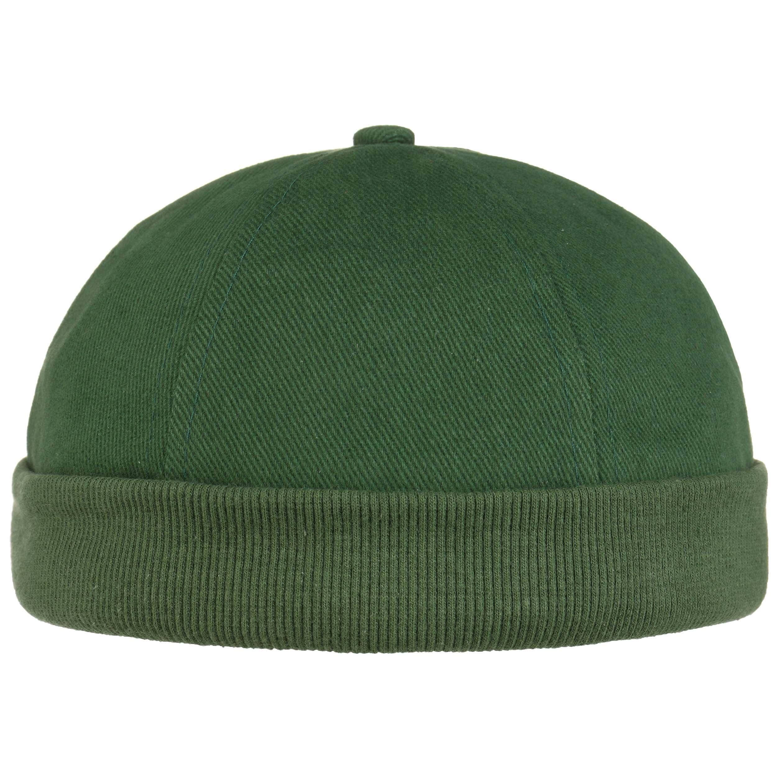 ... Calotta in Cotone Docker Cap - verde scuro 6 ... 8acf9f0720a5