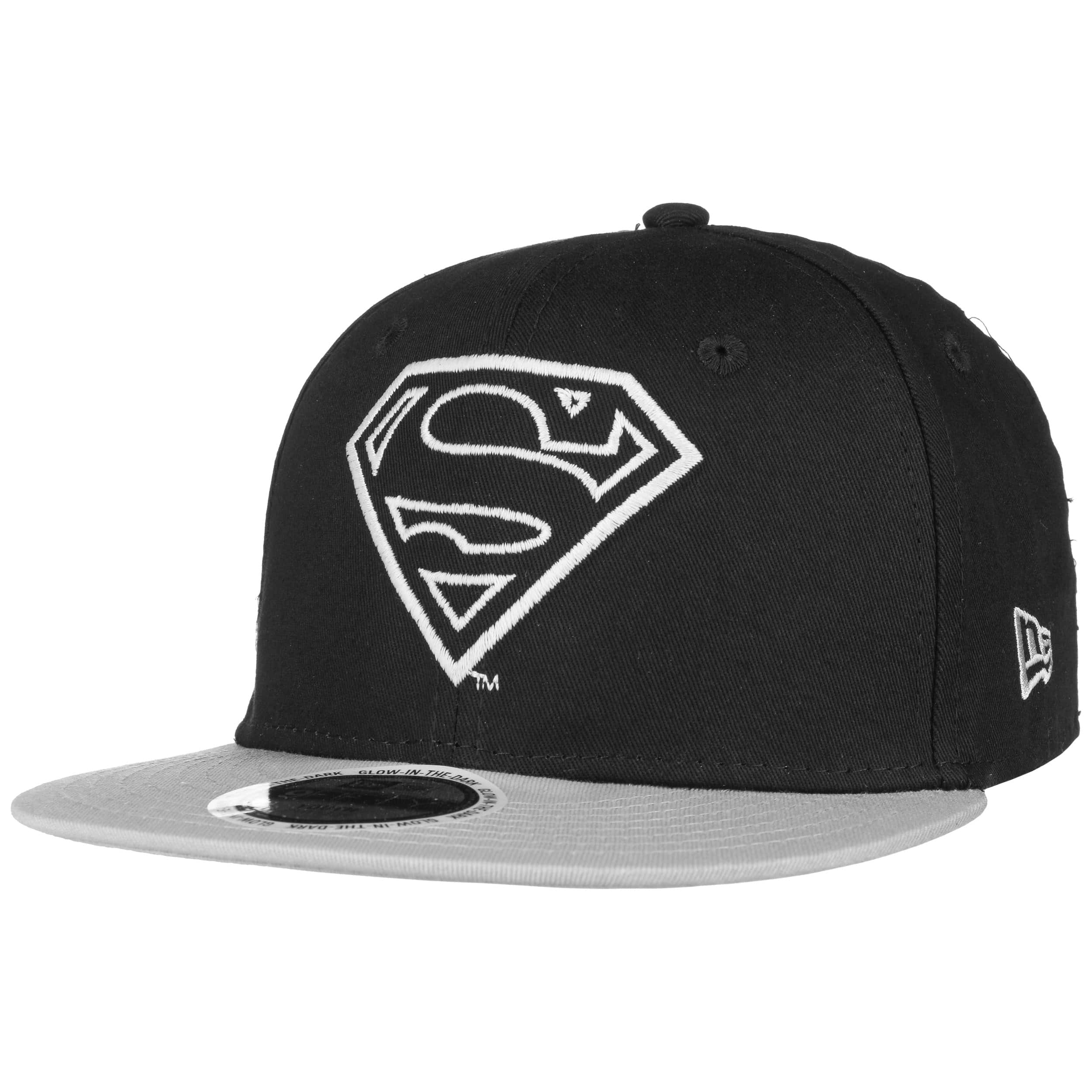 ... Cappellino 9Fifty Bambini Glow Superman by New Era - nero 6 6a61d61eef55