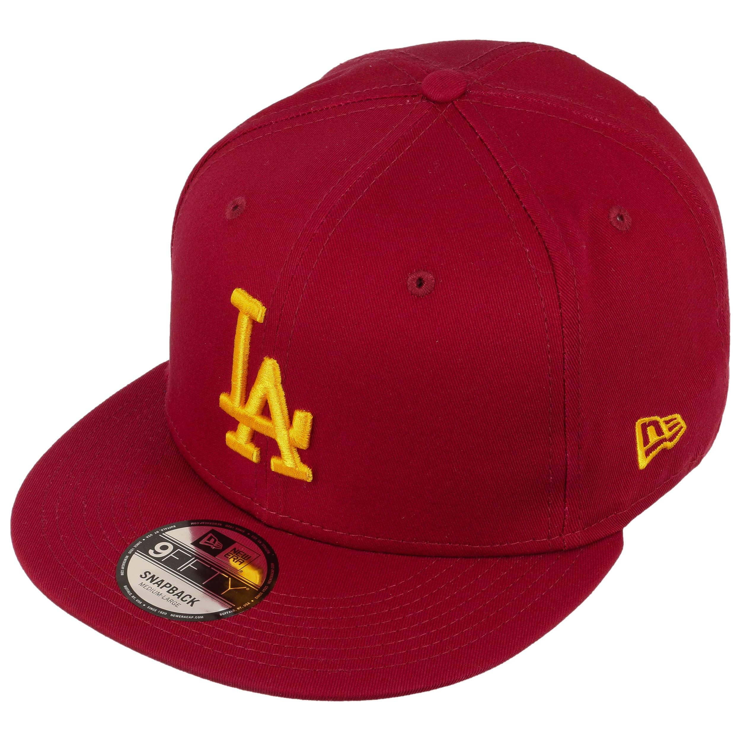 Cappellino 9Fifty League LA Dodgers by New Era - rosso bordeaux 1 ... 54b25c8040d8