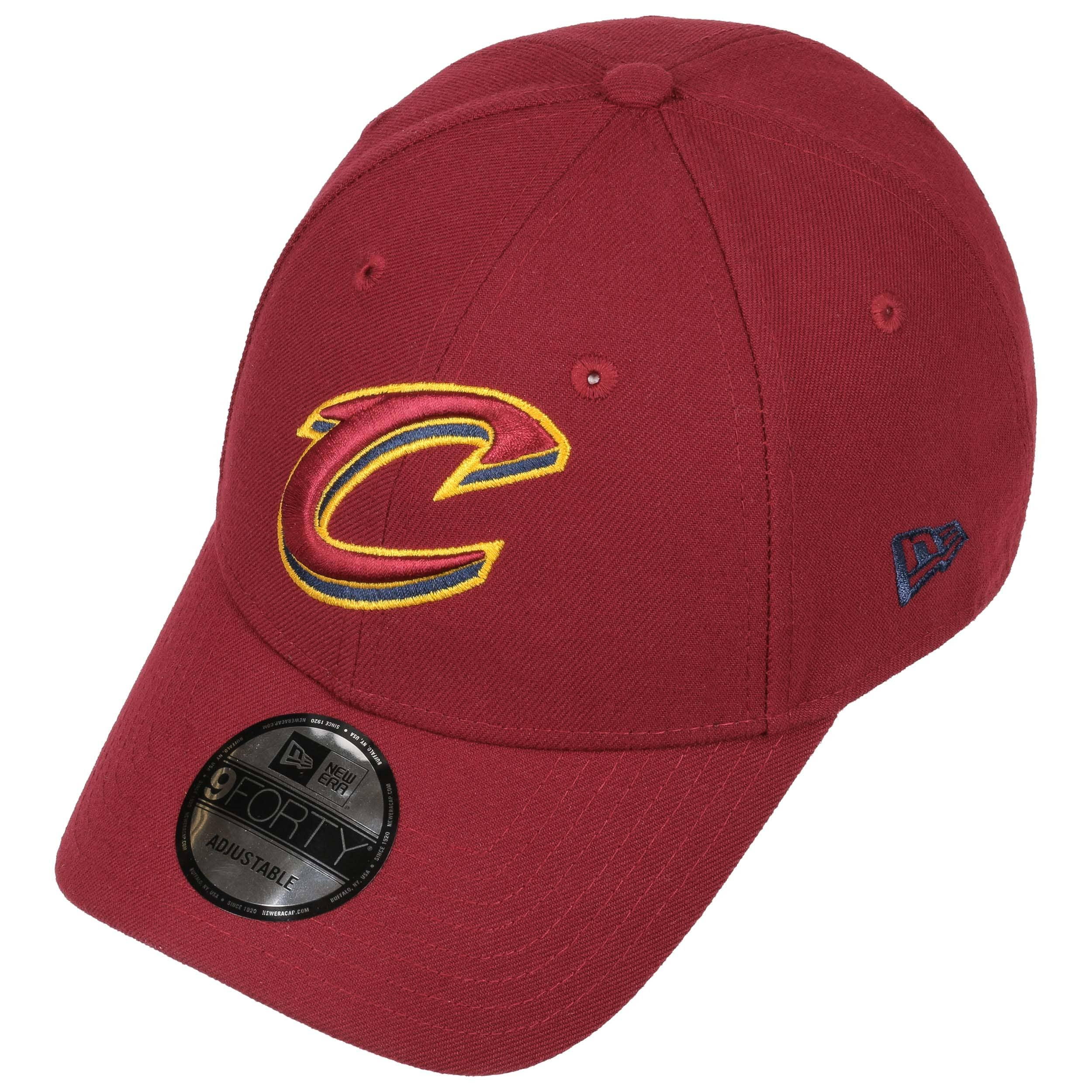 Cappellino 9Forty League Cavs by New Era - rosso bordeaux 1 ... 43077522c622