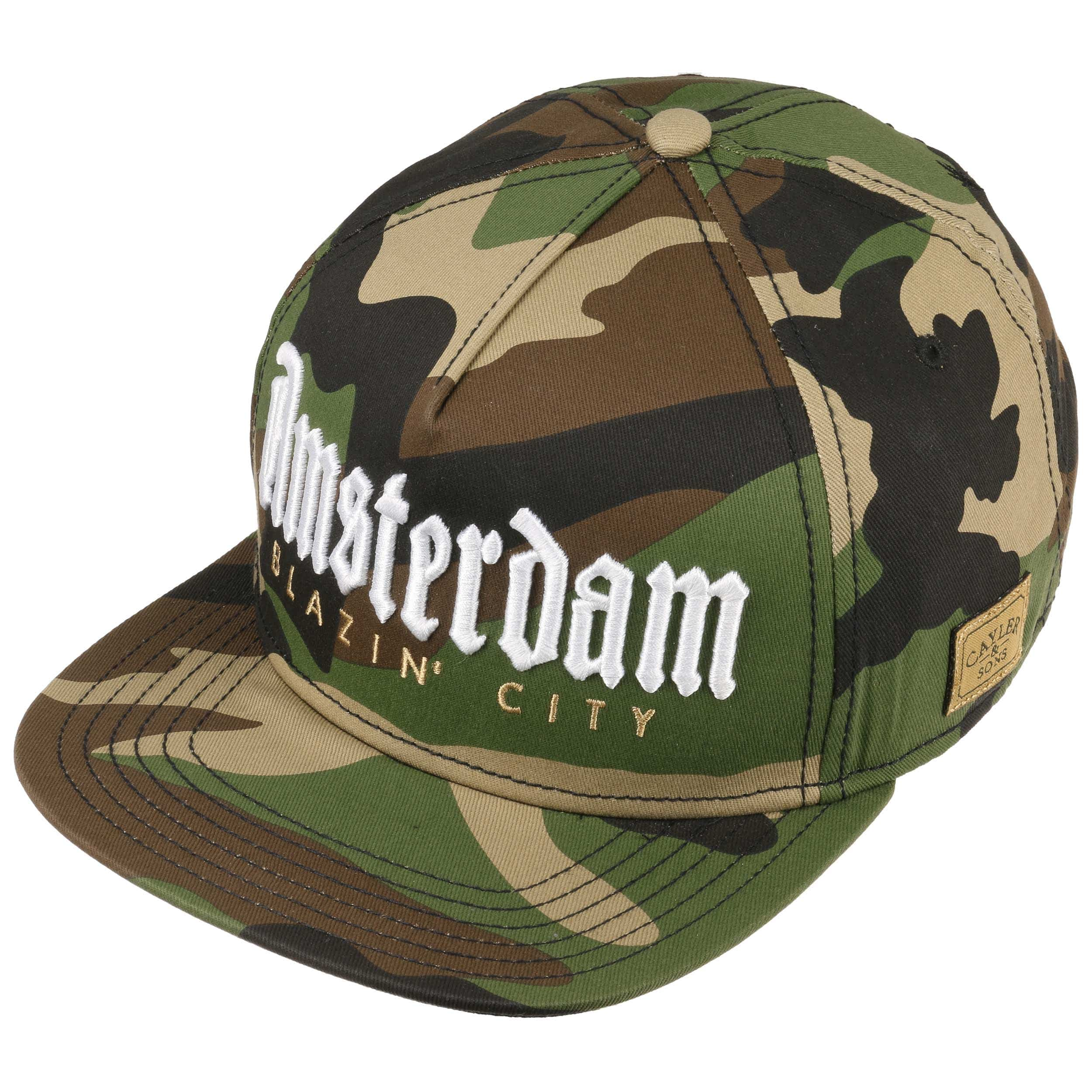 ... blu 1 · Cappellino Amsterdam by Cayler   Sons - camouflage 1 ... 62bf1ebb2519
