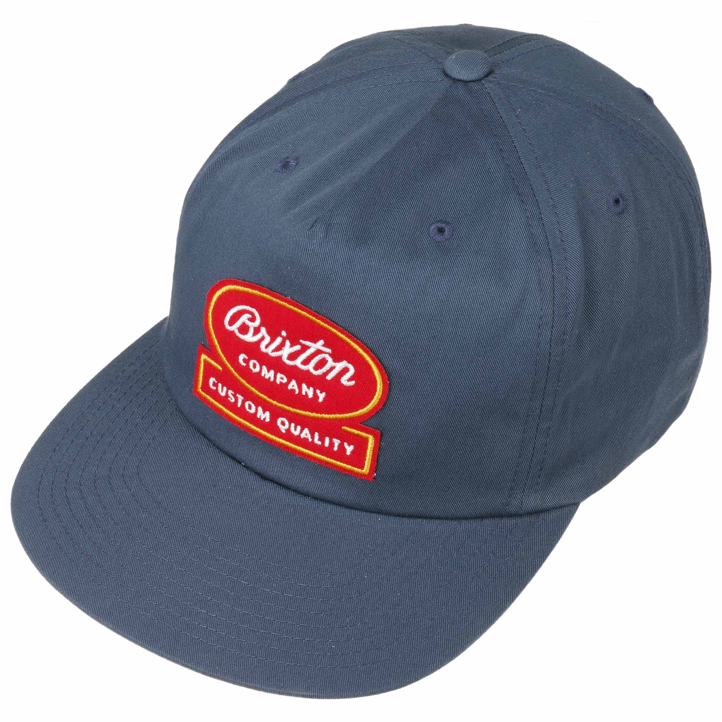 Cappellino Dale Snapback by Brixton - blu scuro 1 ... 9a6b4b9beac6