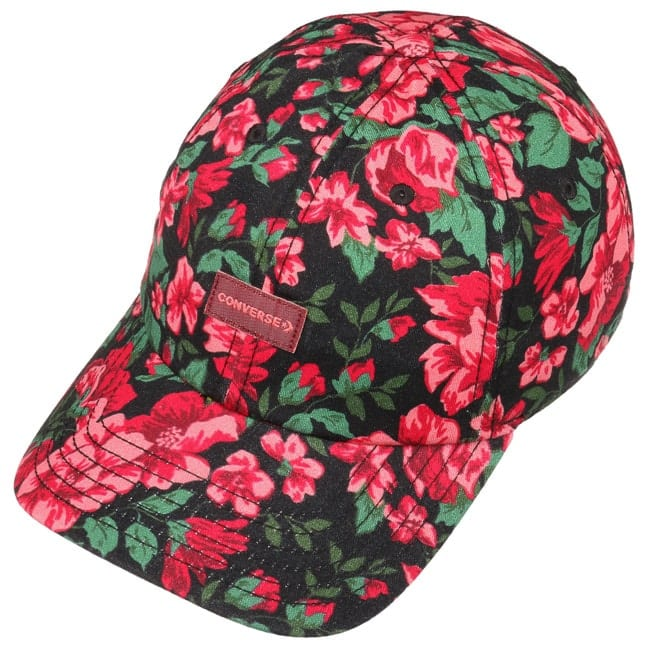 a84f2635e6 Cappellino Parkway Floral by Converse - rosso 1 ...