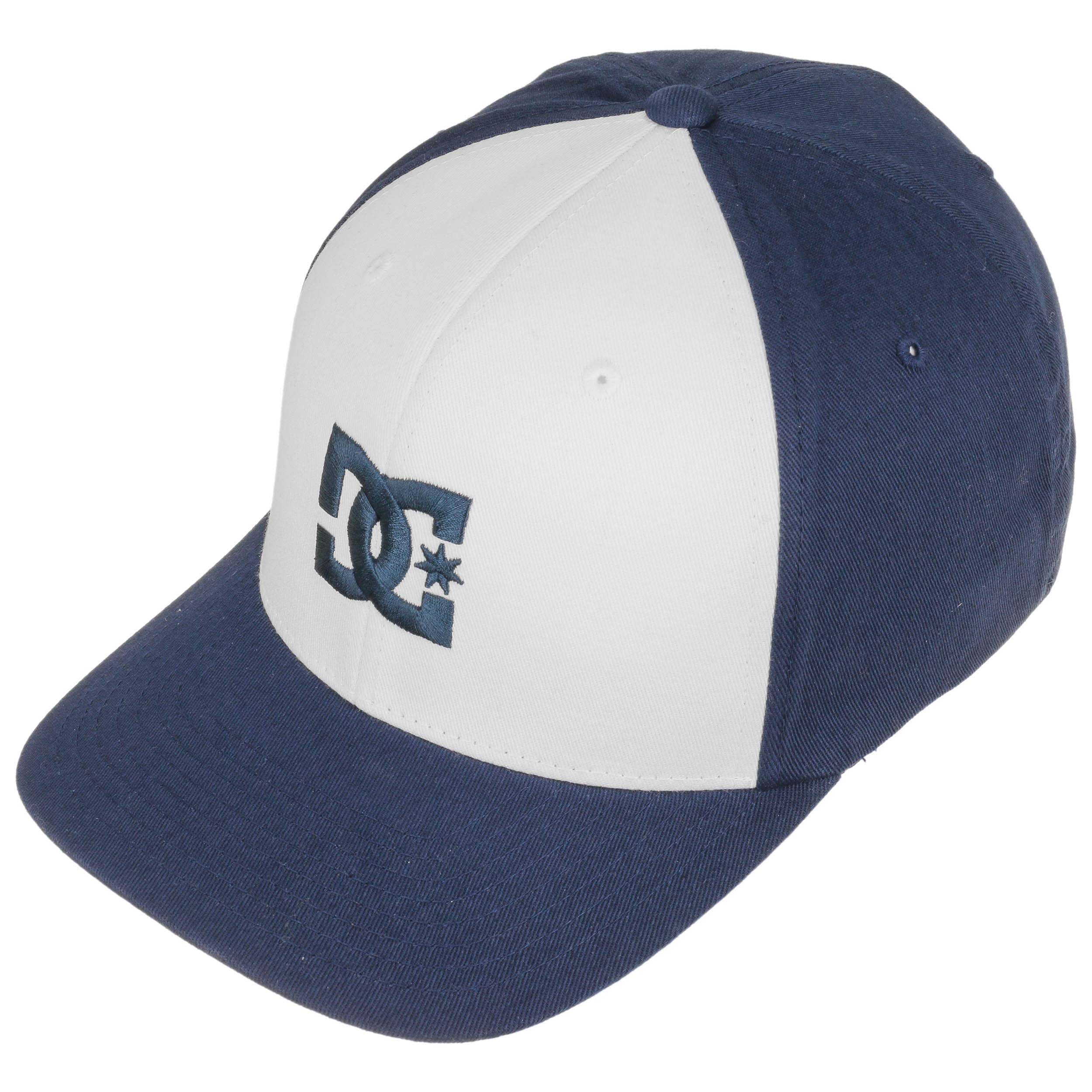 dc shoes Cap Star 2 - Cappellino Flexfit da Uomo - White - DC Shoes
