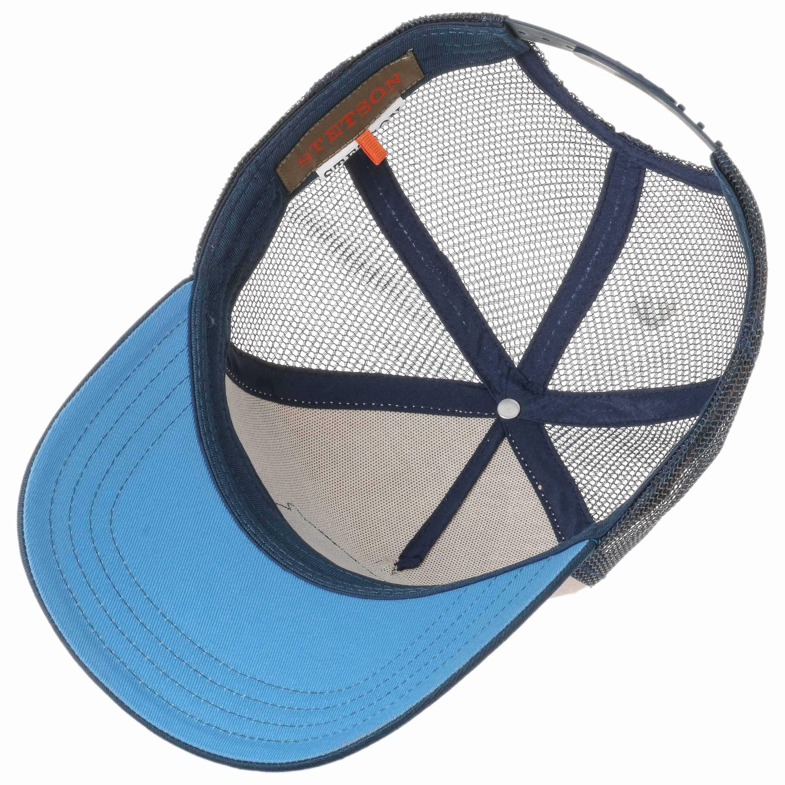 ... Cappellino Trucker Baseball by Stetson - blu scuro 2 ... c8be5b70a948