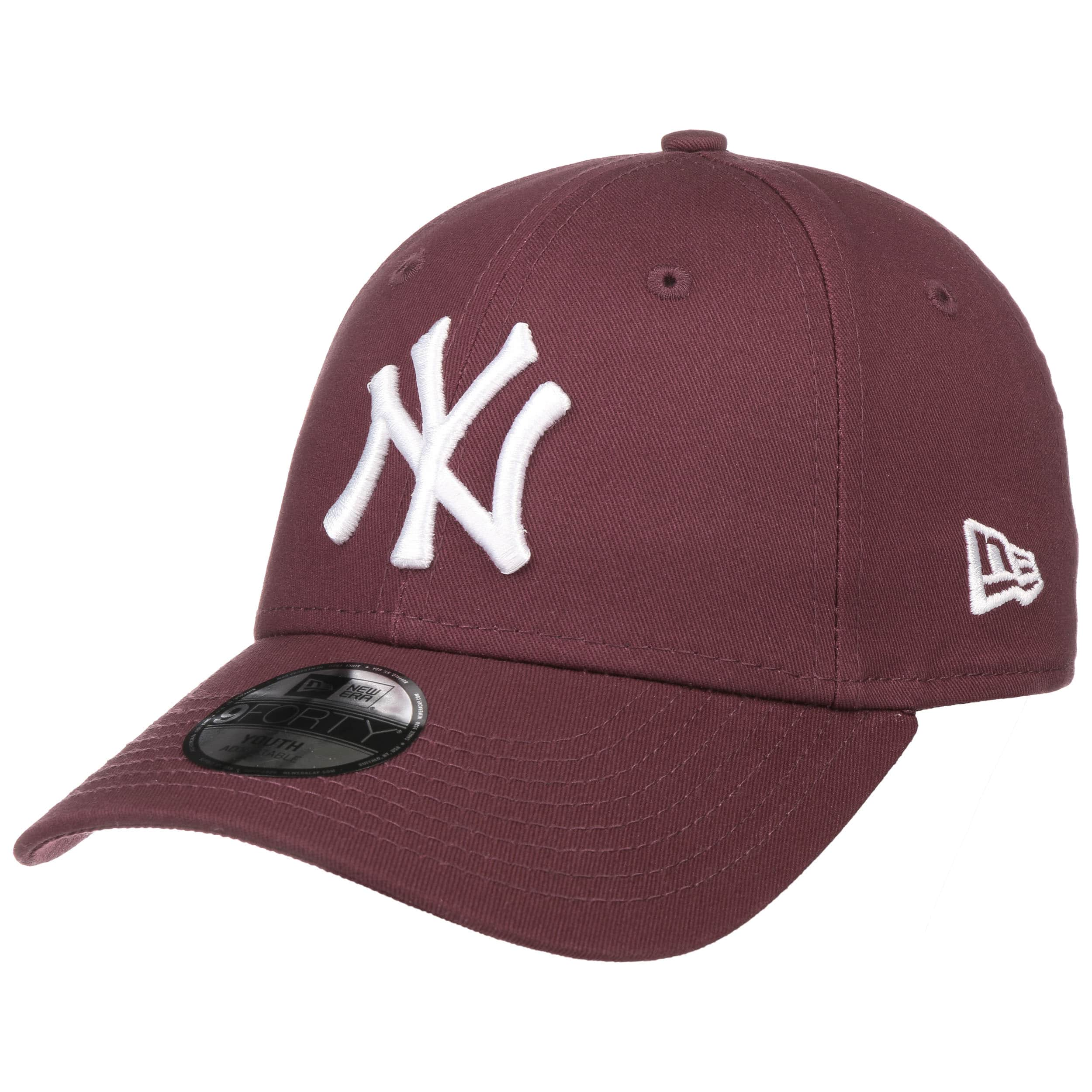 ... Cappellino da Bambino 9Forty League NY by New Era - rosso bordeaux 2 ... 40b28a08b86b