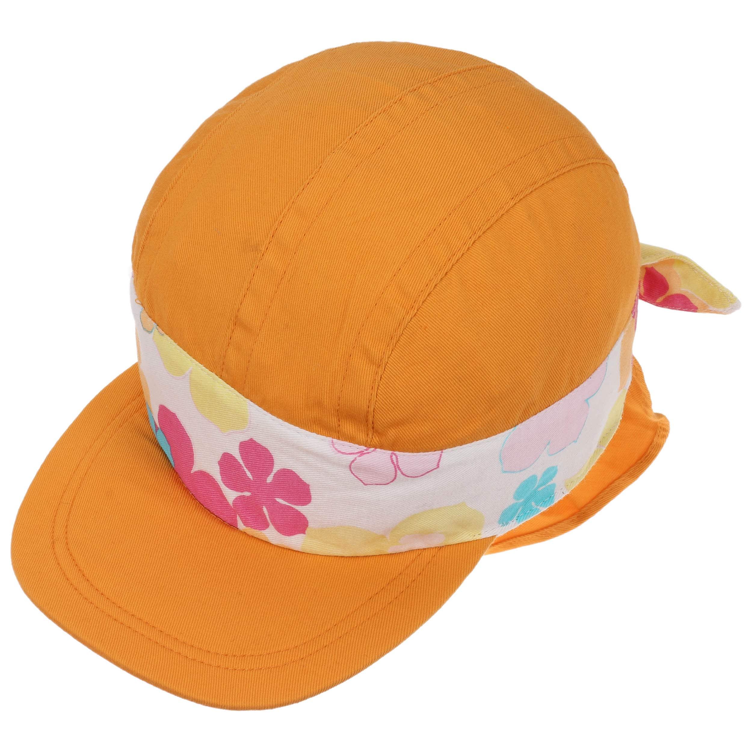 ... Cappellino da Bambino con Protezione Nuca - arancia 1 ... 5703eed40252