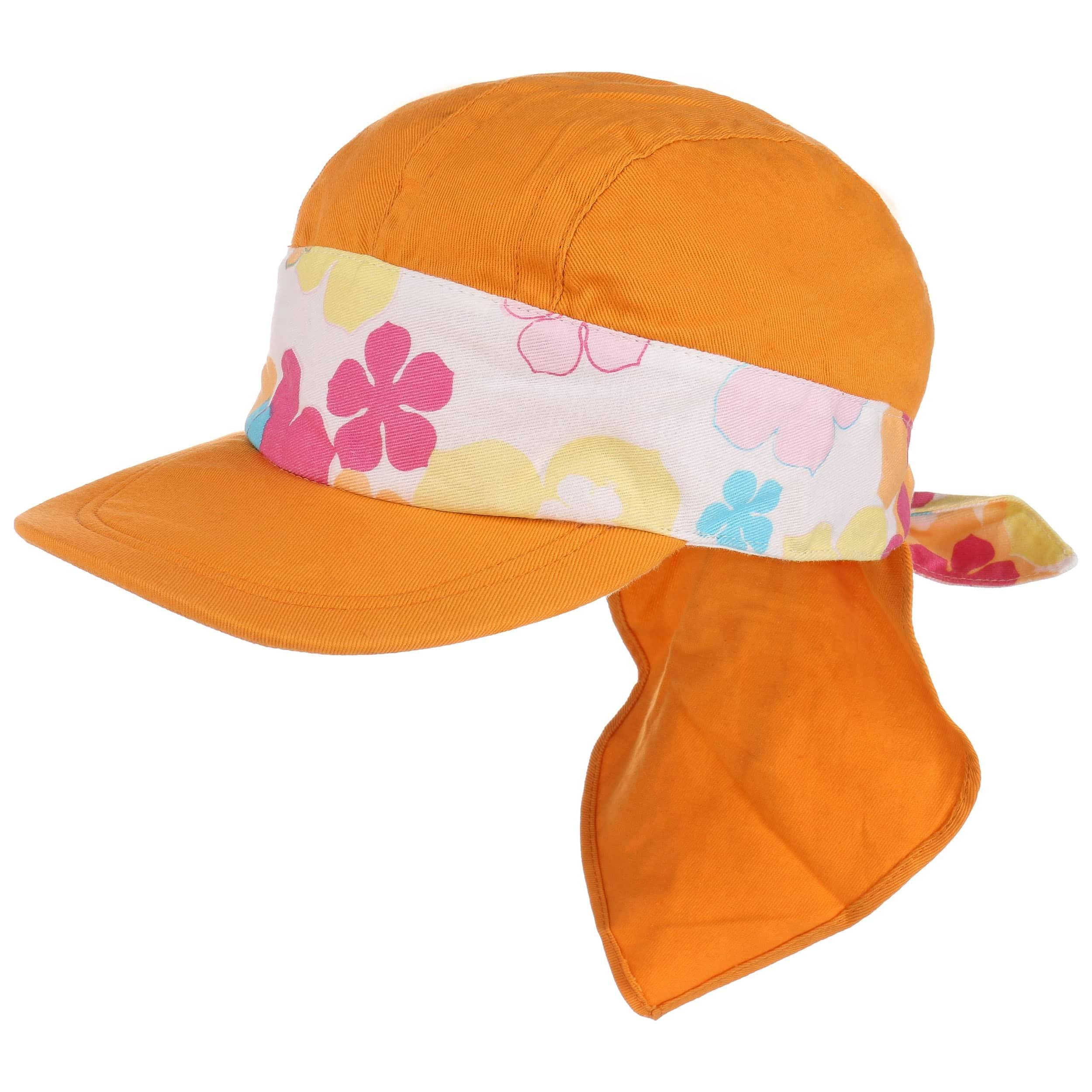 ... Cappellino da Bambino con Protezione Nuca - arancia 5 ac3d2f38c798