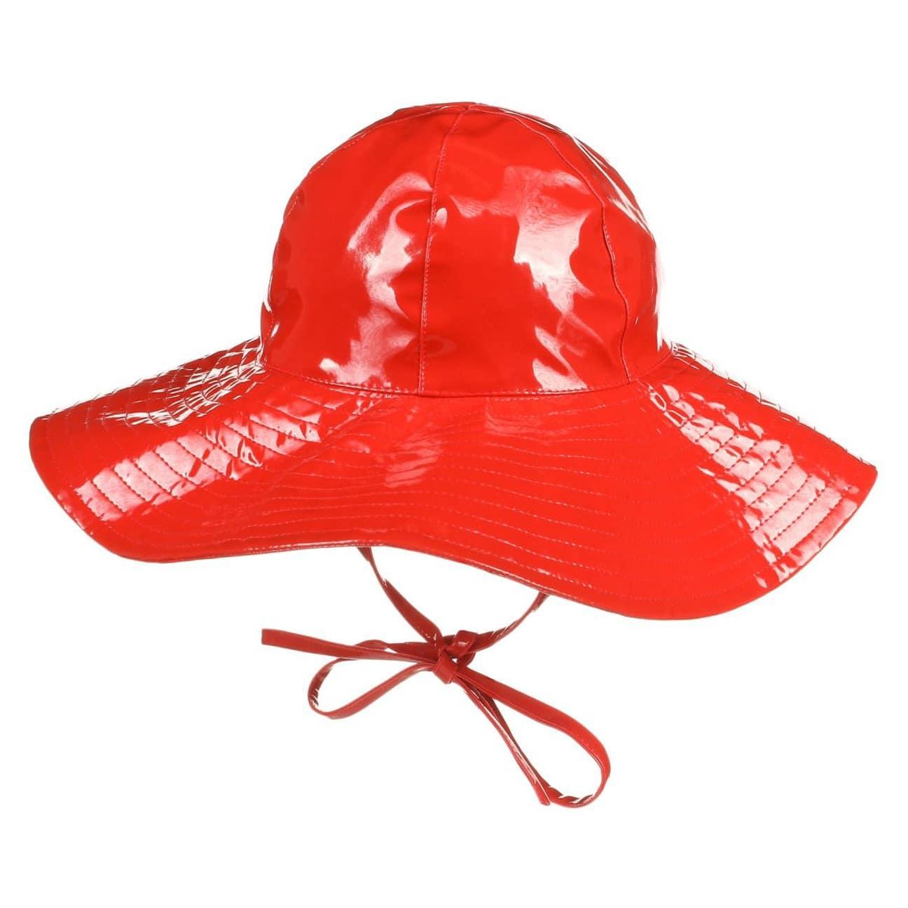 ... Cappello Antipioggia Floppy by McBURN - rosso 1 ... bab8261e68b3