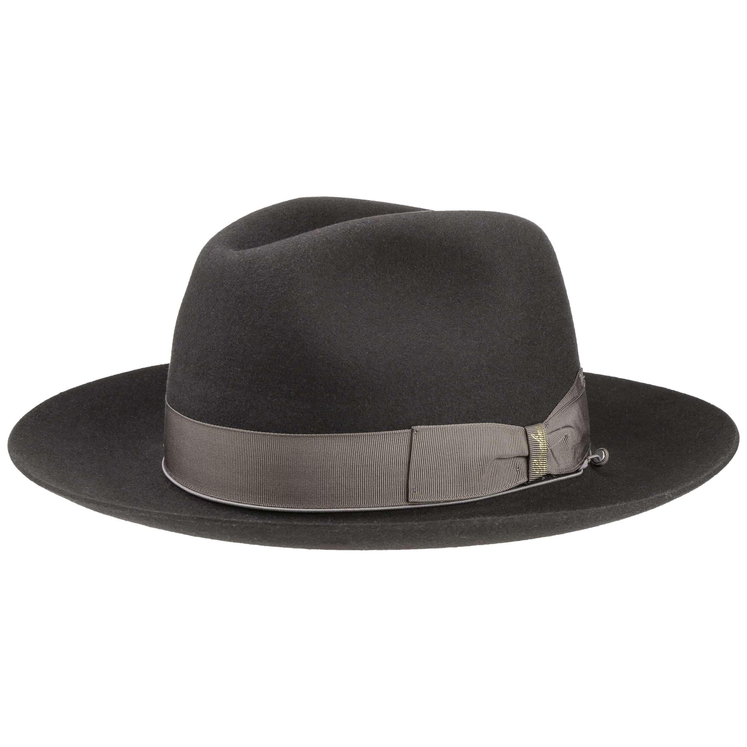 ... Cappello Bogart a Tesa Larga by Borsalino - antracite-grigio 4 ... 4396cf2aa791