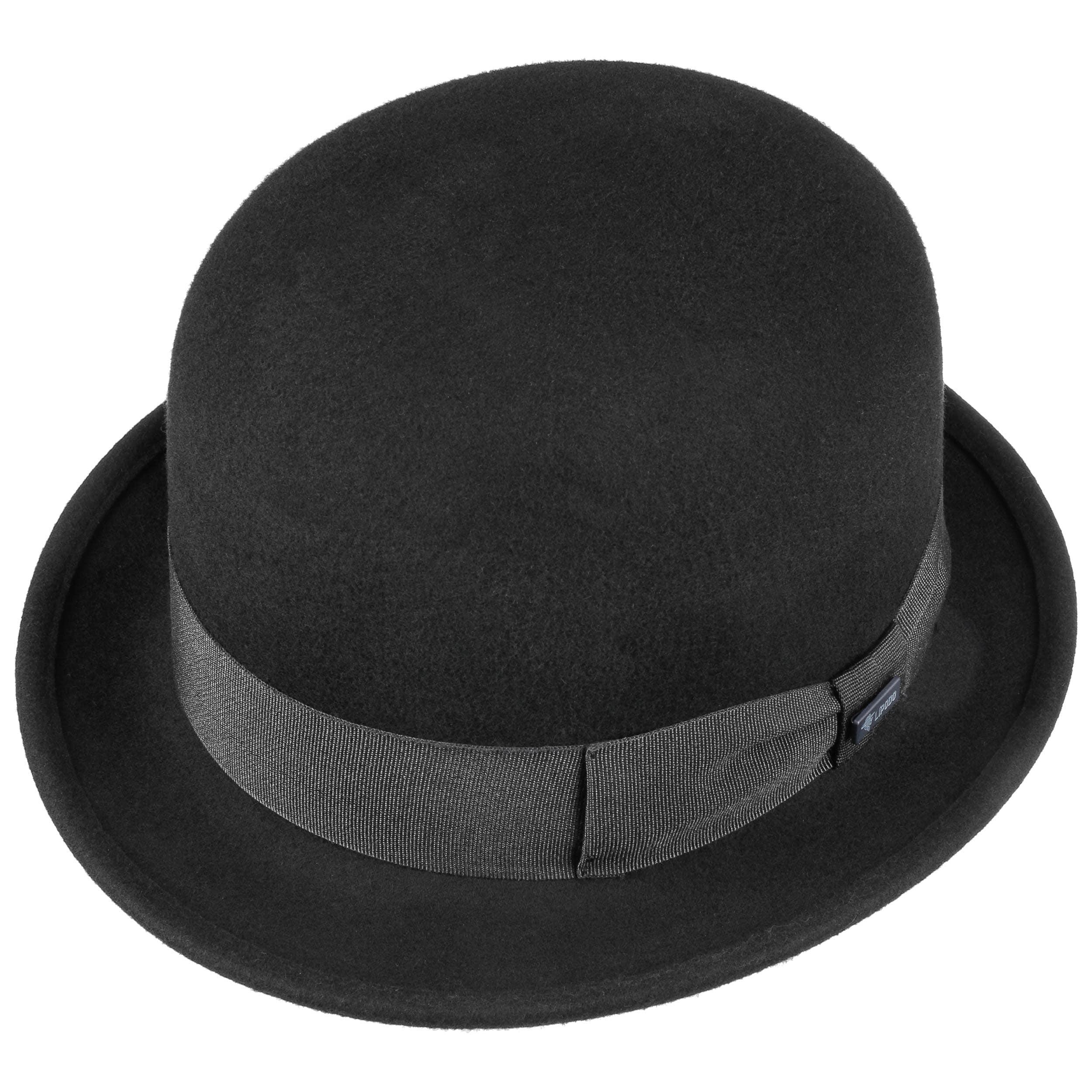 Cappello Bombetta di Feltro by Lipodo - nero 1 ... 3da672cf6343