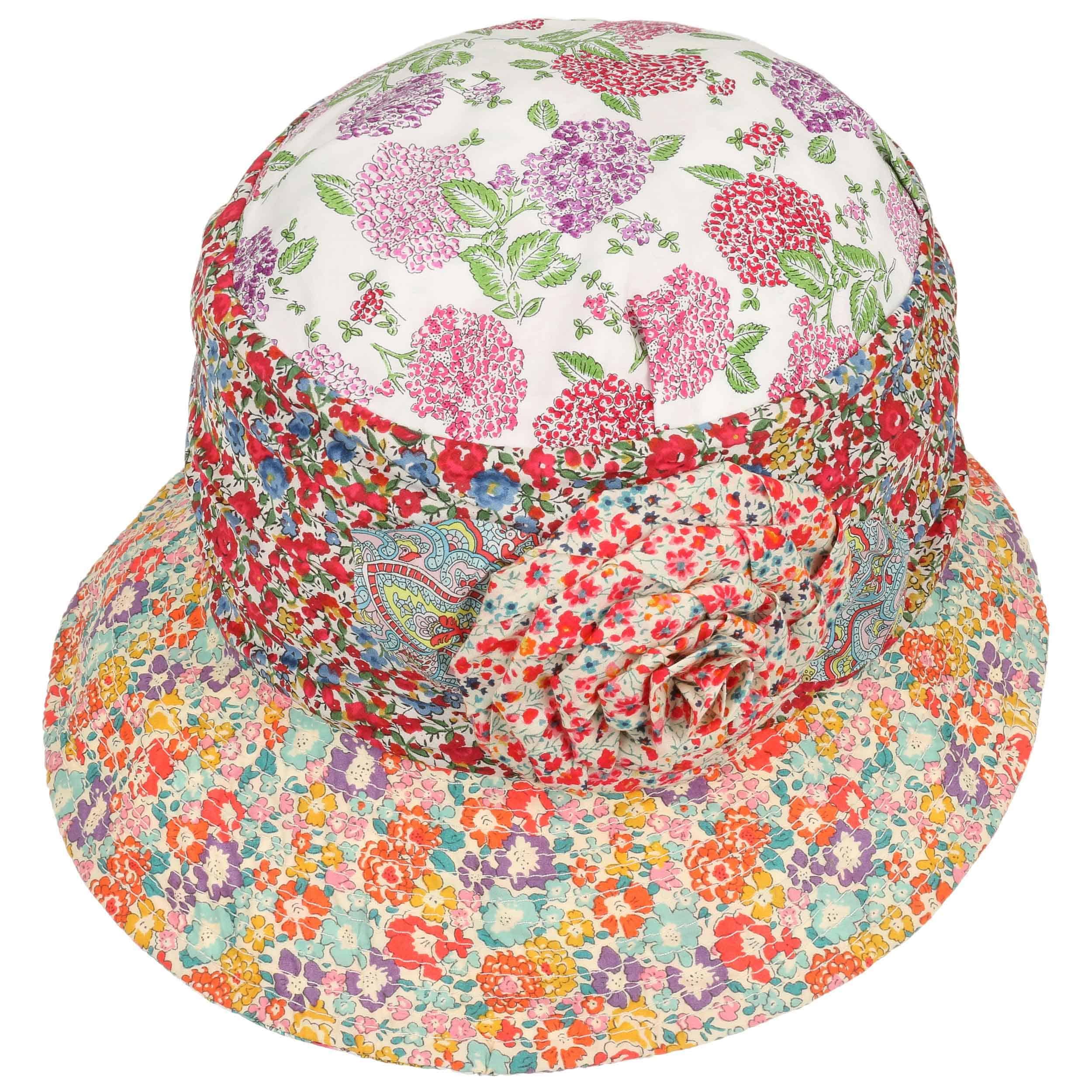 Cappello Cloche Flower Patchwork by GREVI - a colori 1 ... 54b629efaa9e