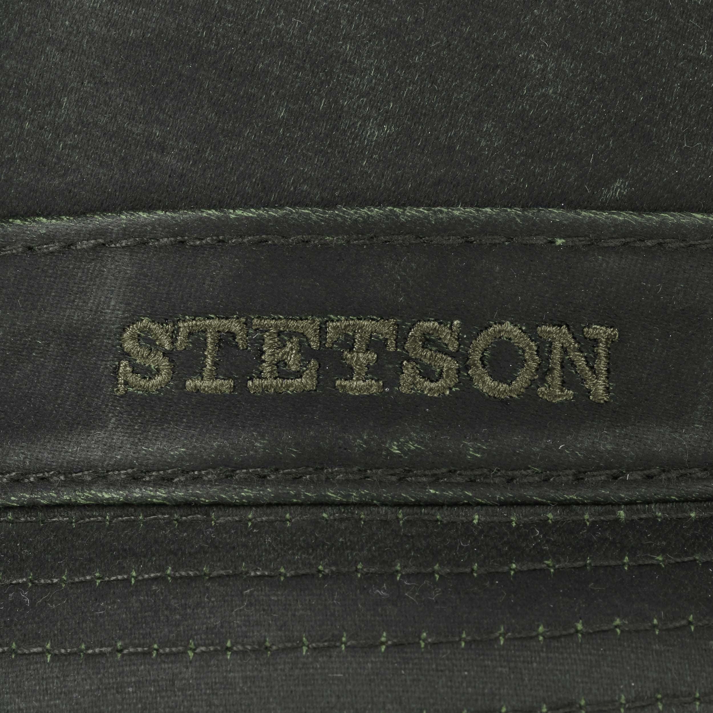 ... Cappello Odenton Porkpie by Stetson - oliva scuro 3 ... d3bf50dc7b31