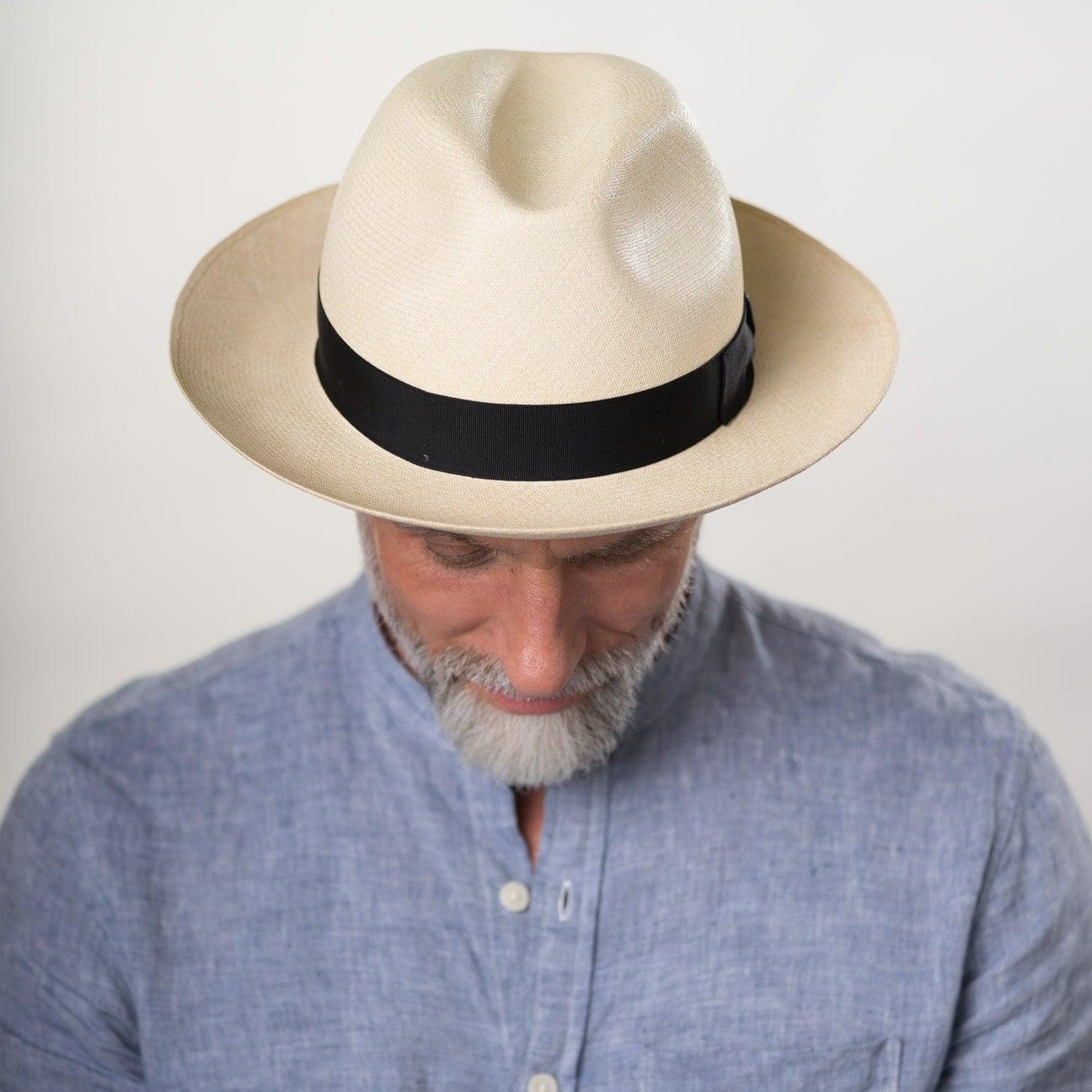 ... Cappello Panama Prestige Bogart by Borsalino - natura 6 ... 932df5659cf5
