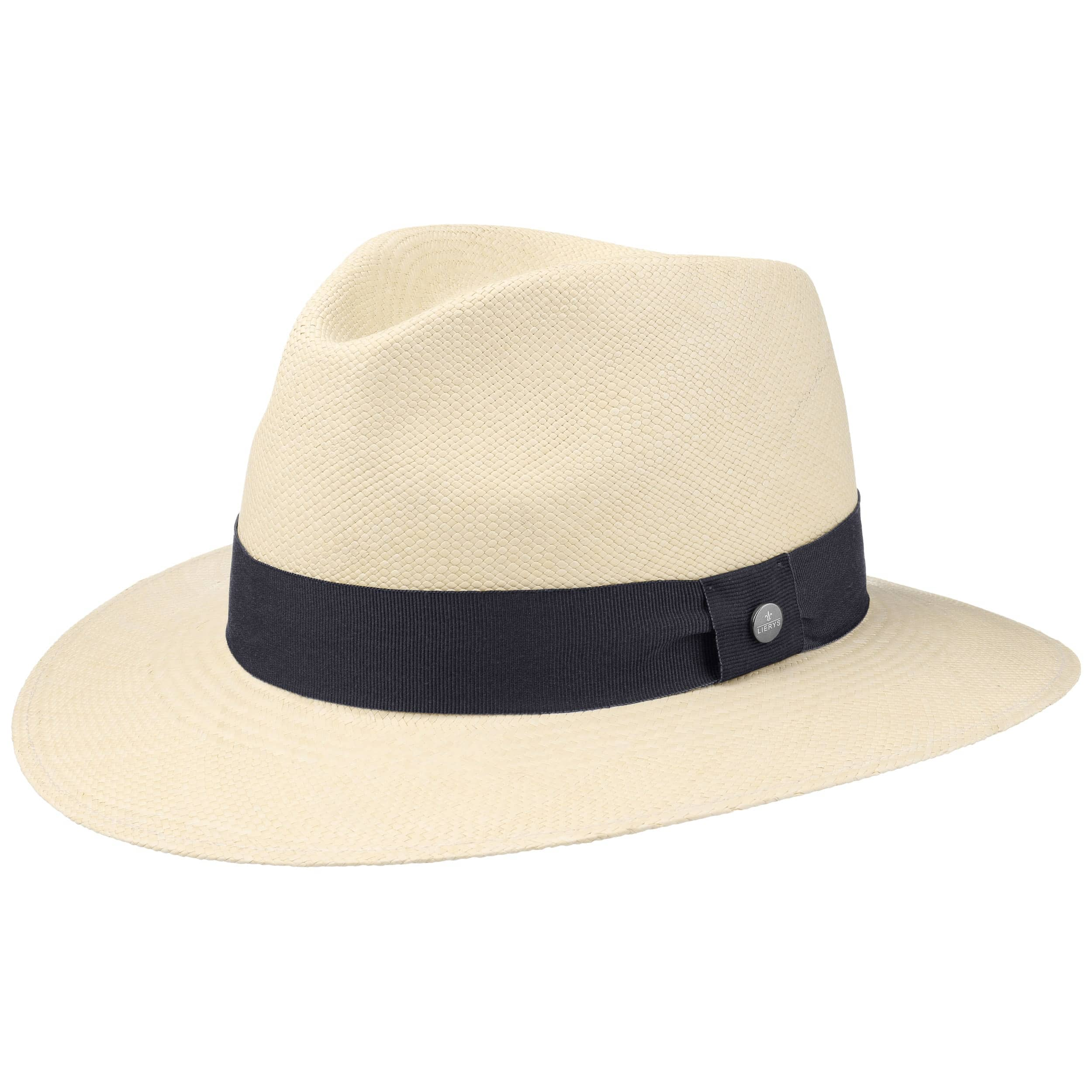 3eec2b5337 ... Cappello Panama Sophisticated by Lierys - natura-blu scuro 4 ...