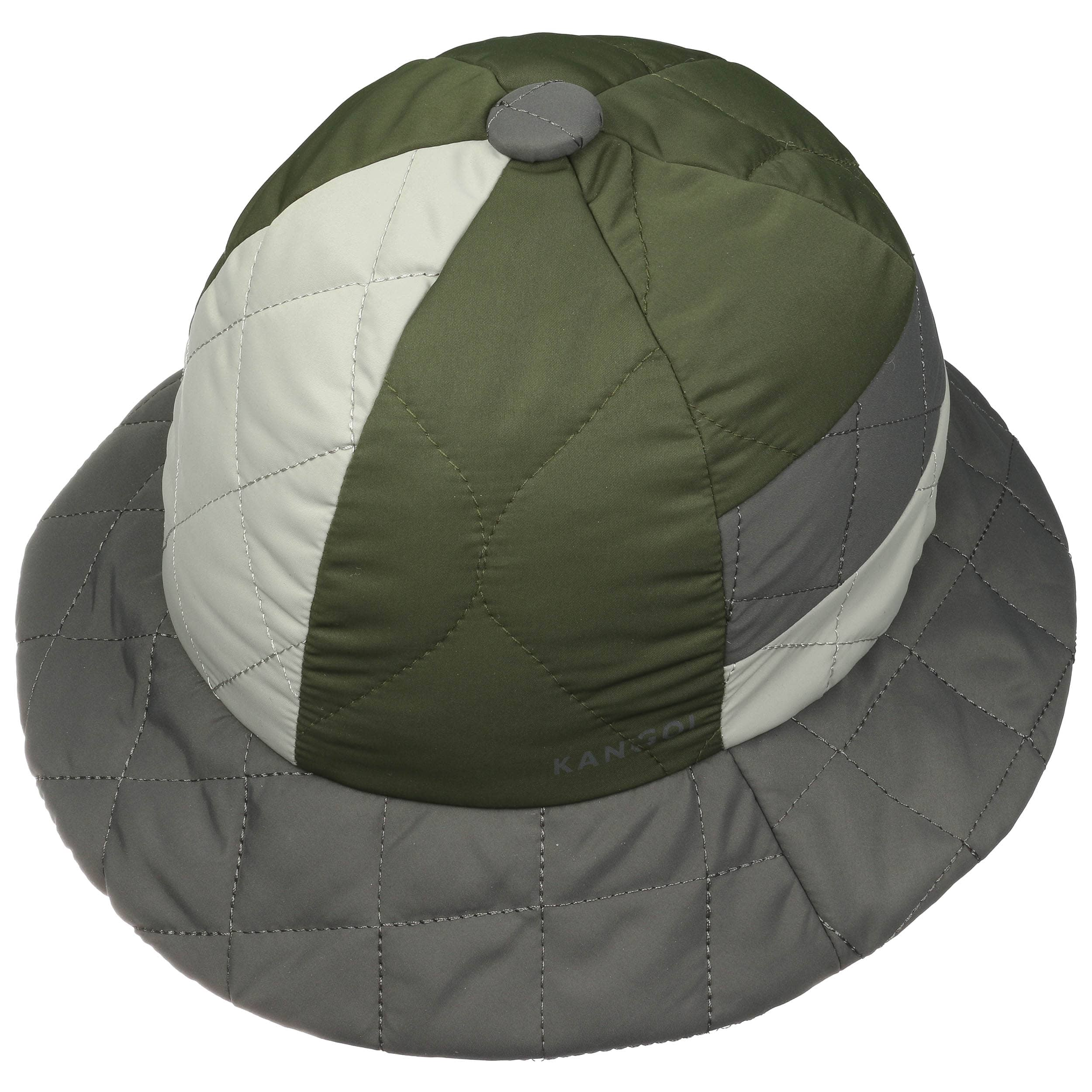 Cappello Quilted Mix Casual by Kangol - grigio-oliva 1 ... 6e516ec6fab7