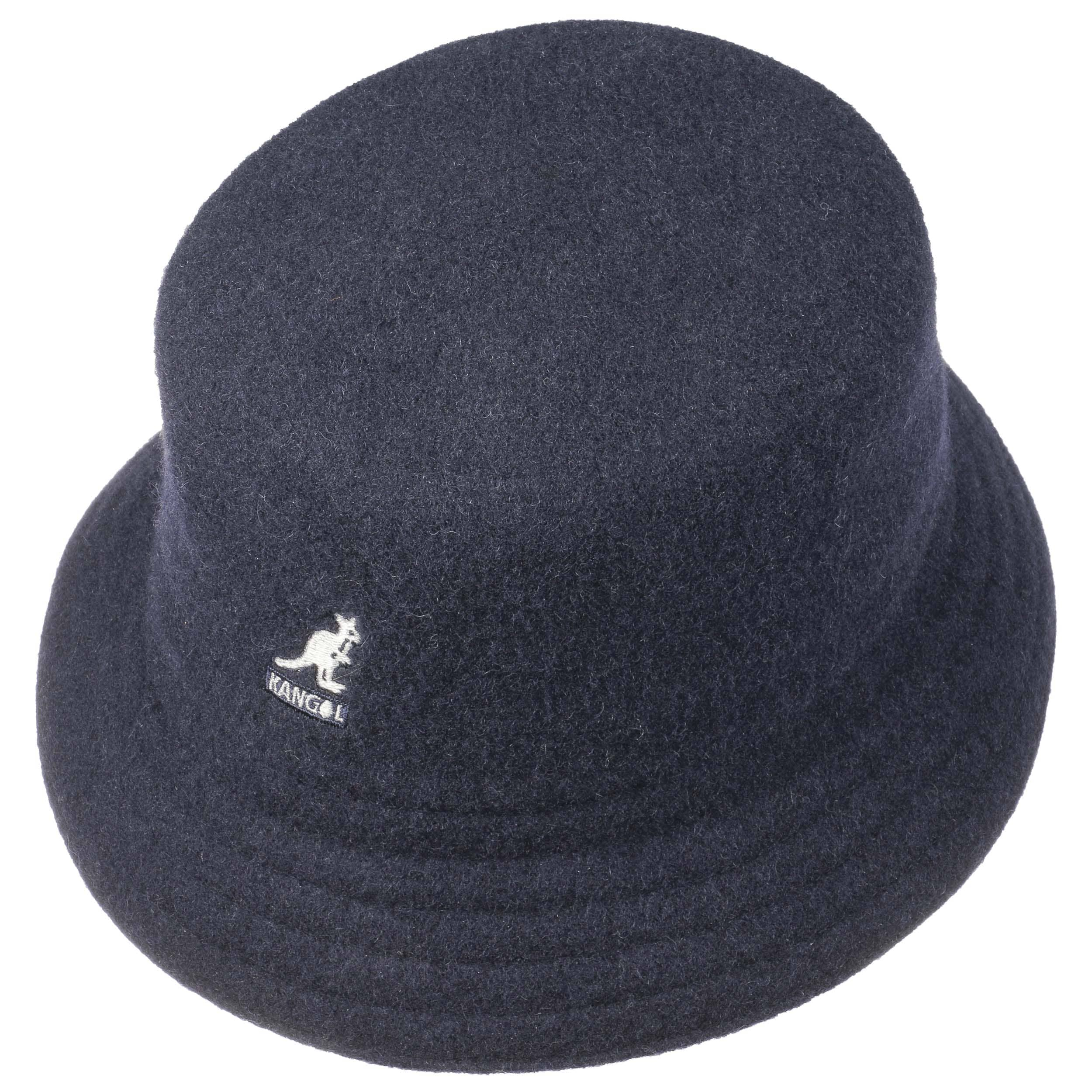 ... Cappello Wool Lahinch by Kangol - blu scuro 1 ... 4c4e3342297f
