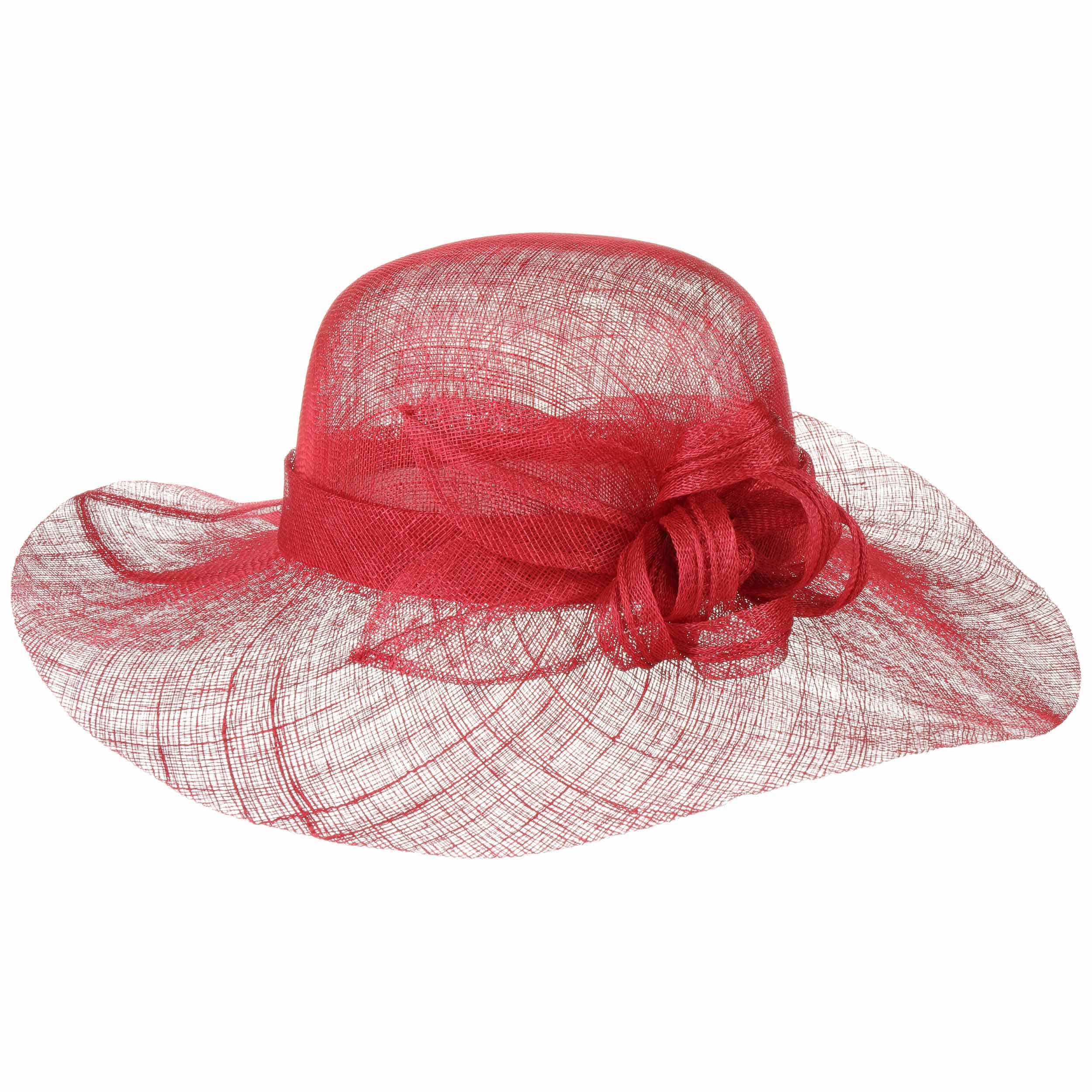Seeberger Cappello a Tesa Larga Matera Sinamay da Donna di Paglia