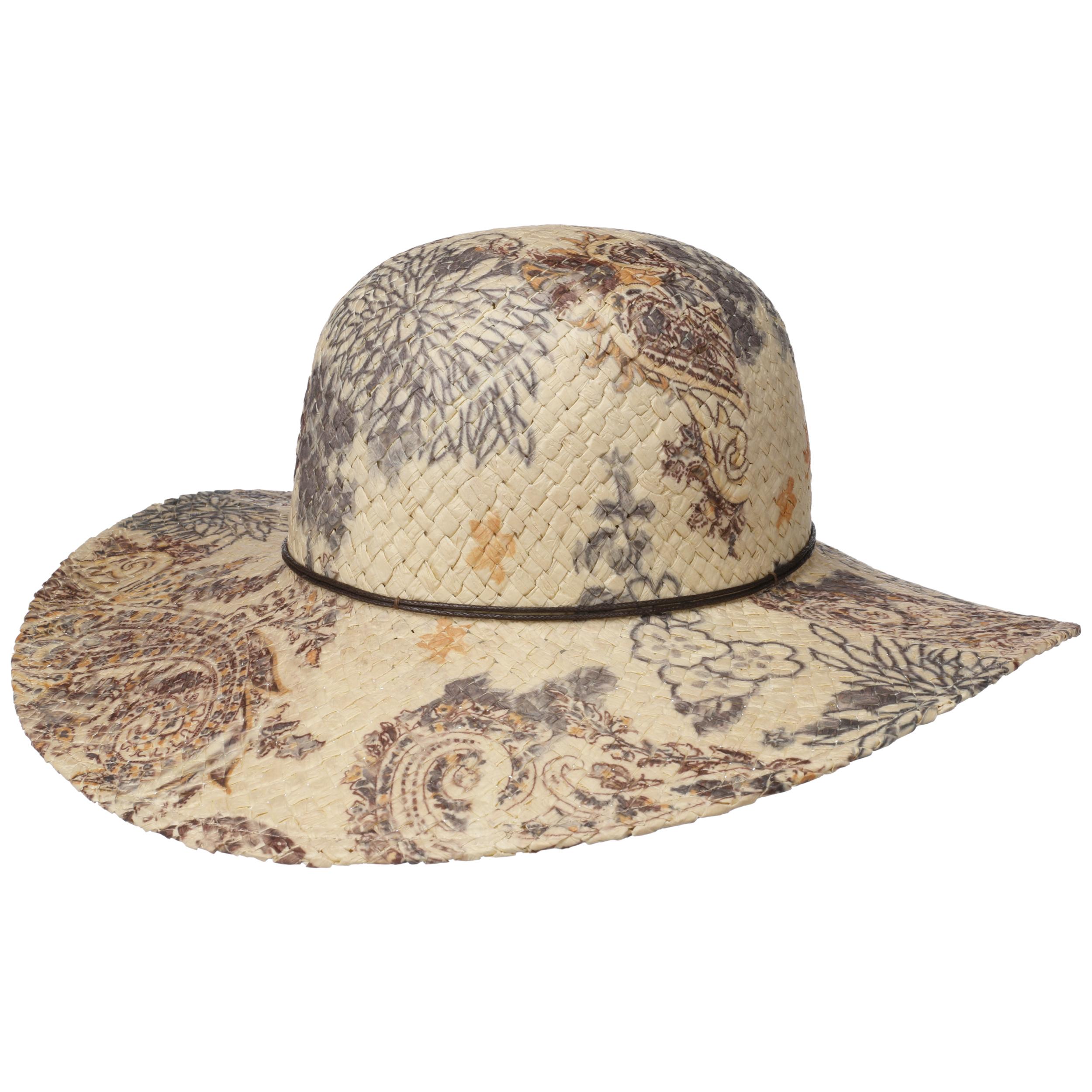 ... Cappello a Tesa Larga Paisley - natura 5 7b934a14128c