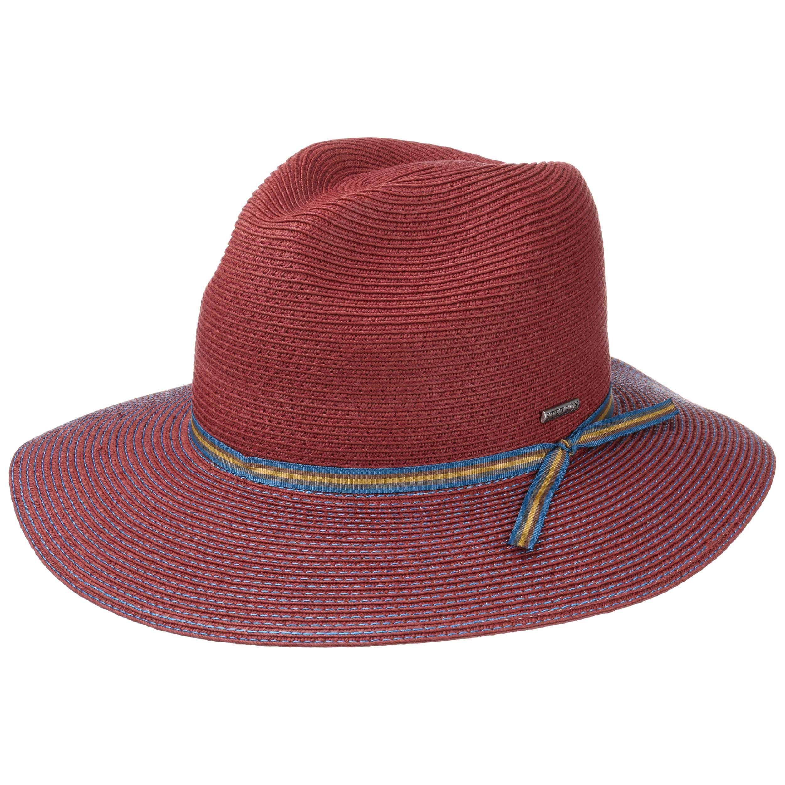 ... Cappello a Tesa Larga Toyo by Stetson - rosso bordeaux 6 ... ed61e1272870