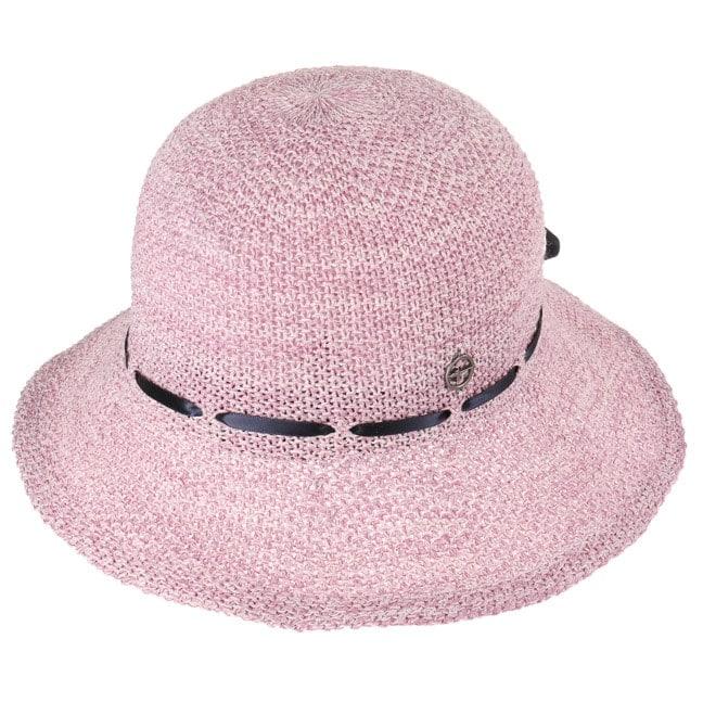 Cappello a Tesa Larga in Viscosa by Tamaris - rosa 1 ... e07541921711