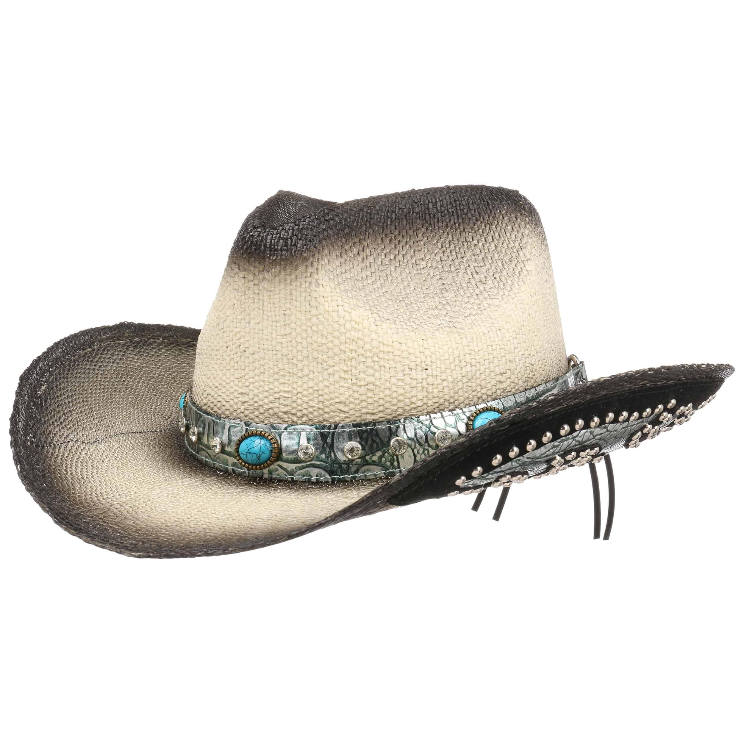 ... Cappello da Cowboy Colour Change by Lipodo - nero-bianco crema 8 07e918090f50