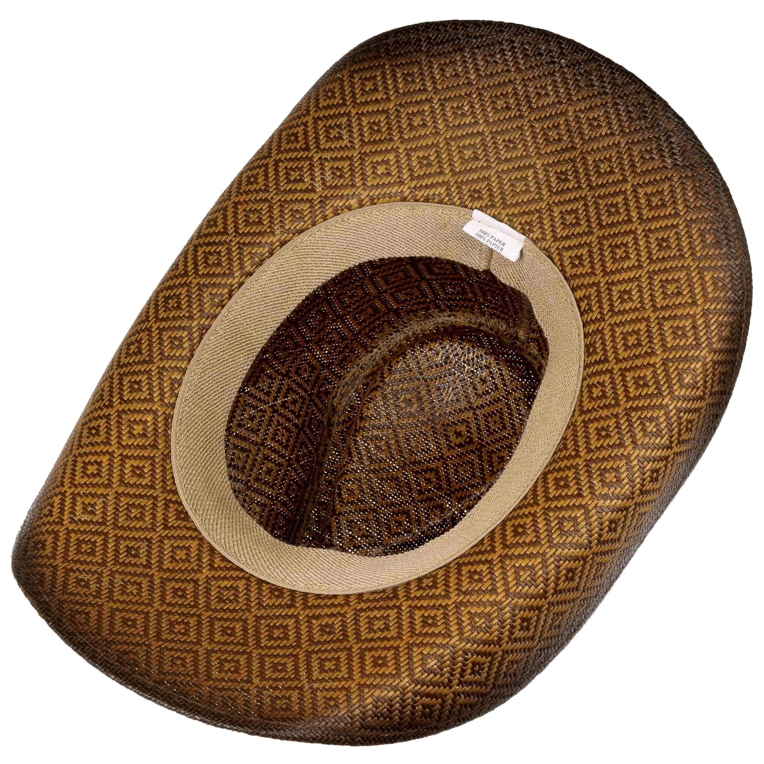 ... Cappello da Cowboy Squares by Lipodo - marrone 2 ... e312a2a29827