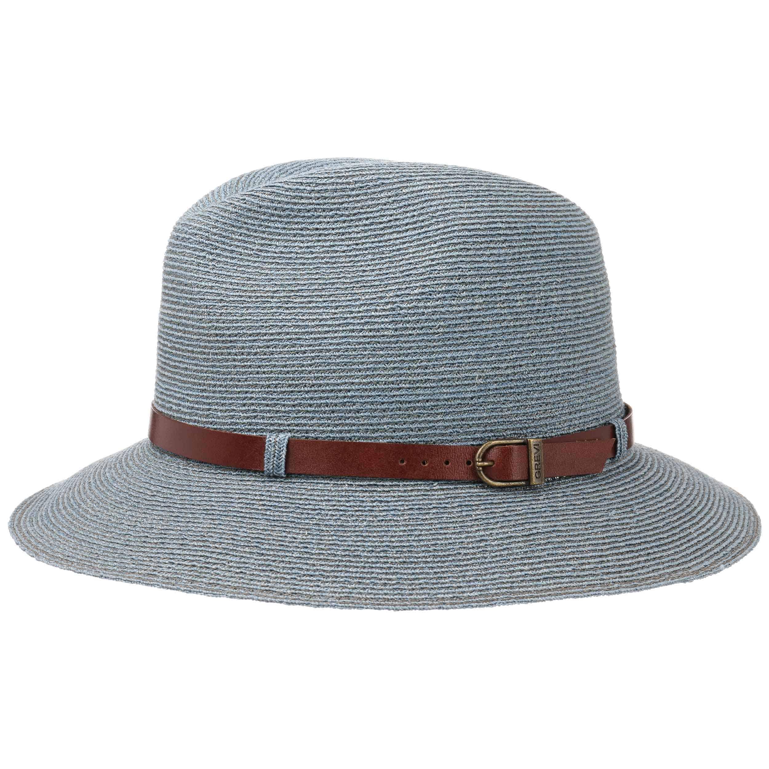 ... Cappello da Donna Abacá Traveller by GREVI - blu 4 64f6a055f0e1