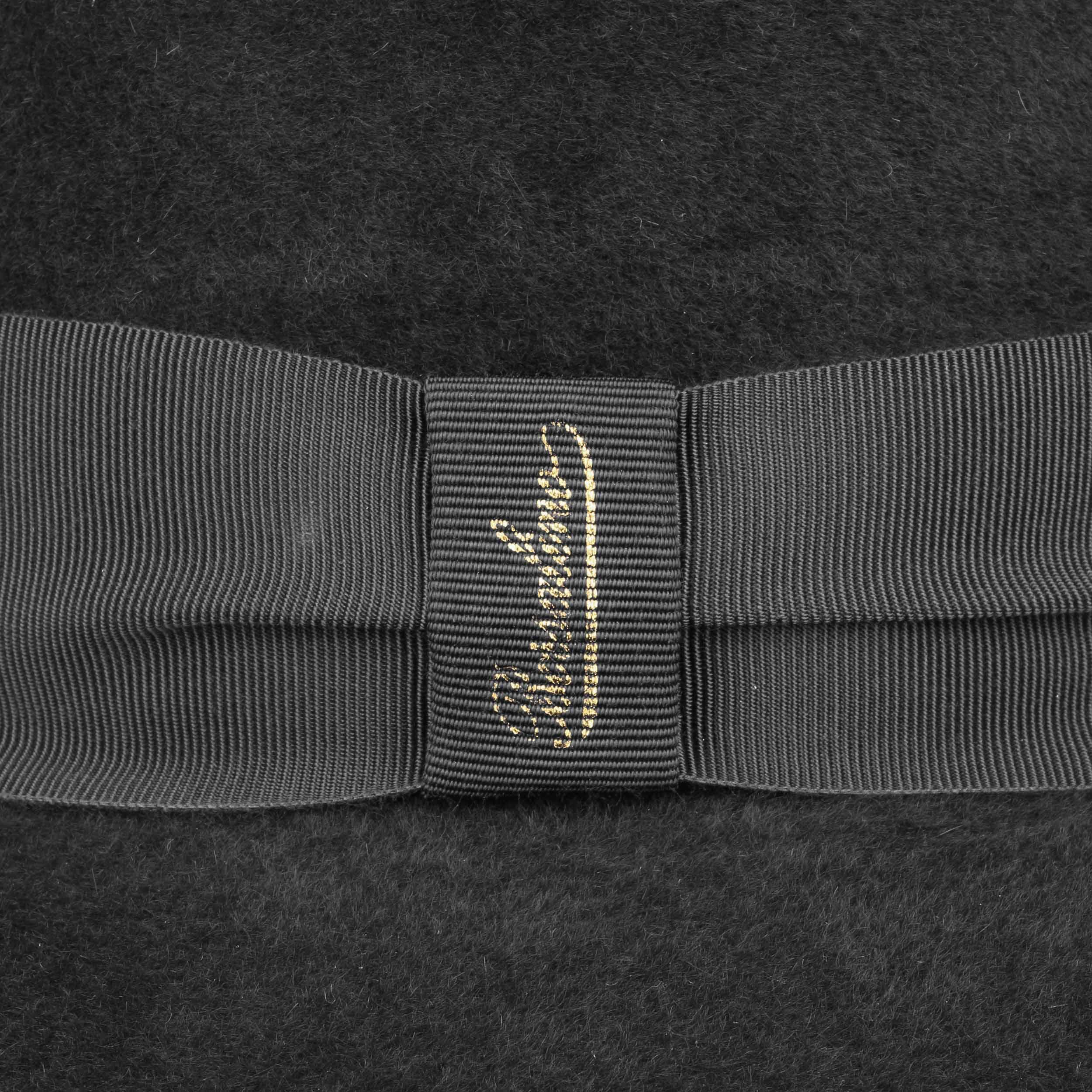 ... Cappello da Donna Audrey by Borsalino - nero 4 ... ca2e1470ed0d
