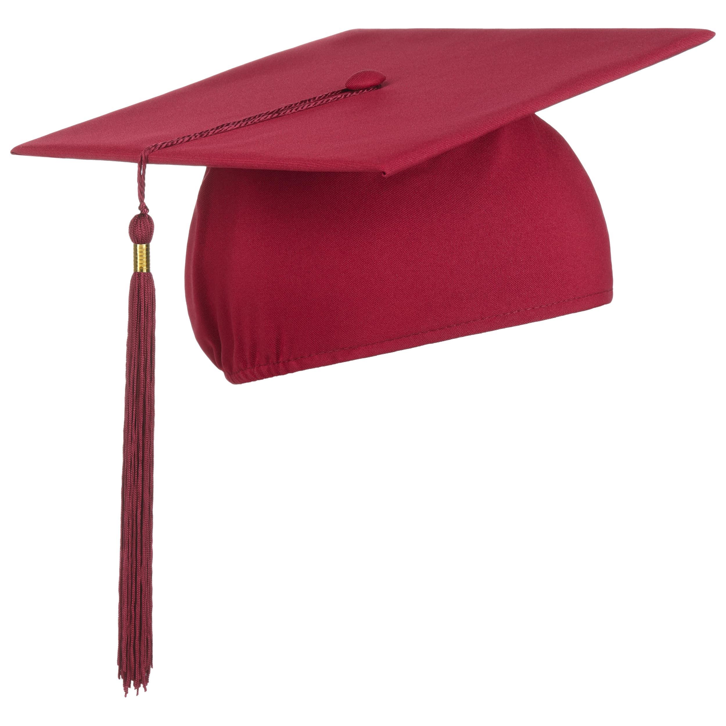 ... Cappello da Laurea Flessibile by Lierys - rosso bordeaux 4 ... 680fb61c2b48