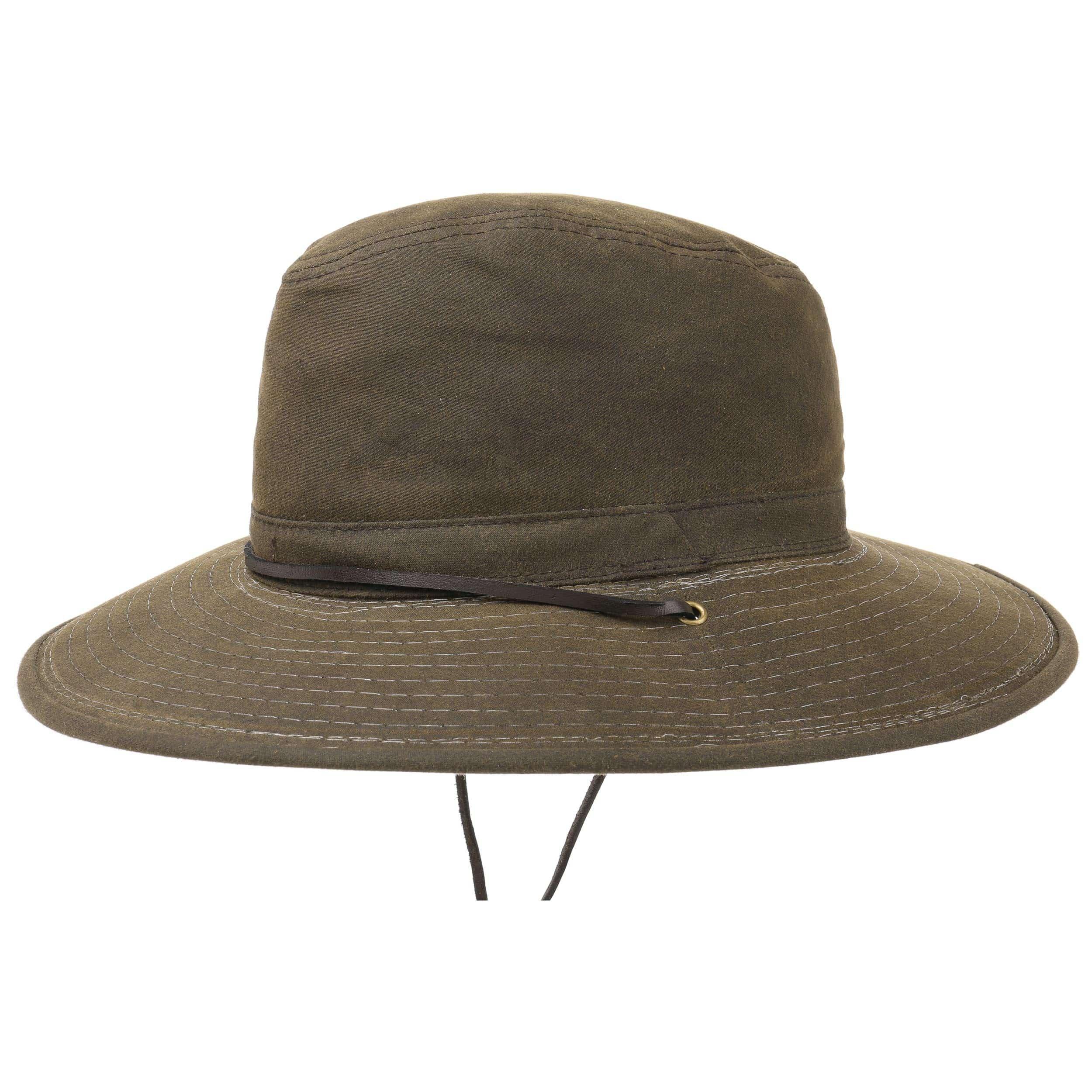 ... Cappello da Sole Safari Oiled Cotton - marrone 4 ... ddafecd84461
