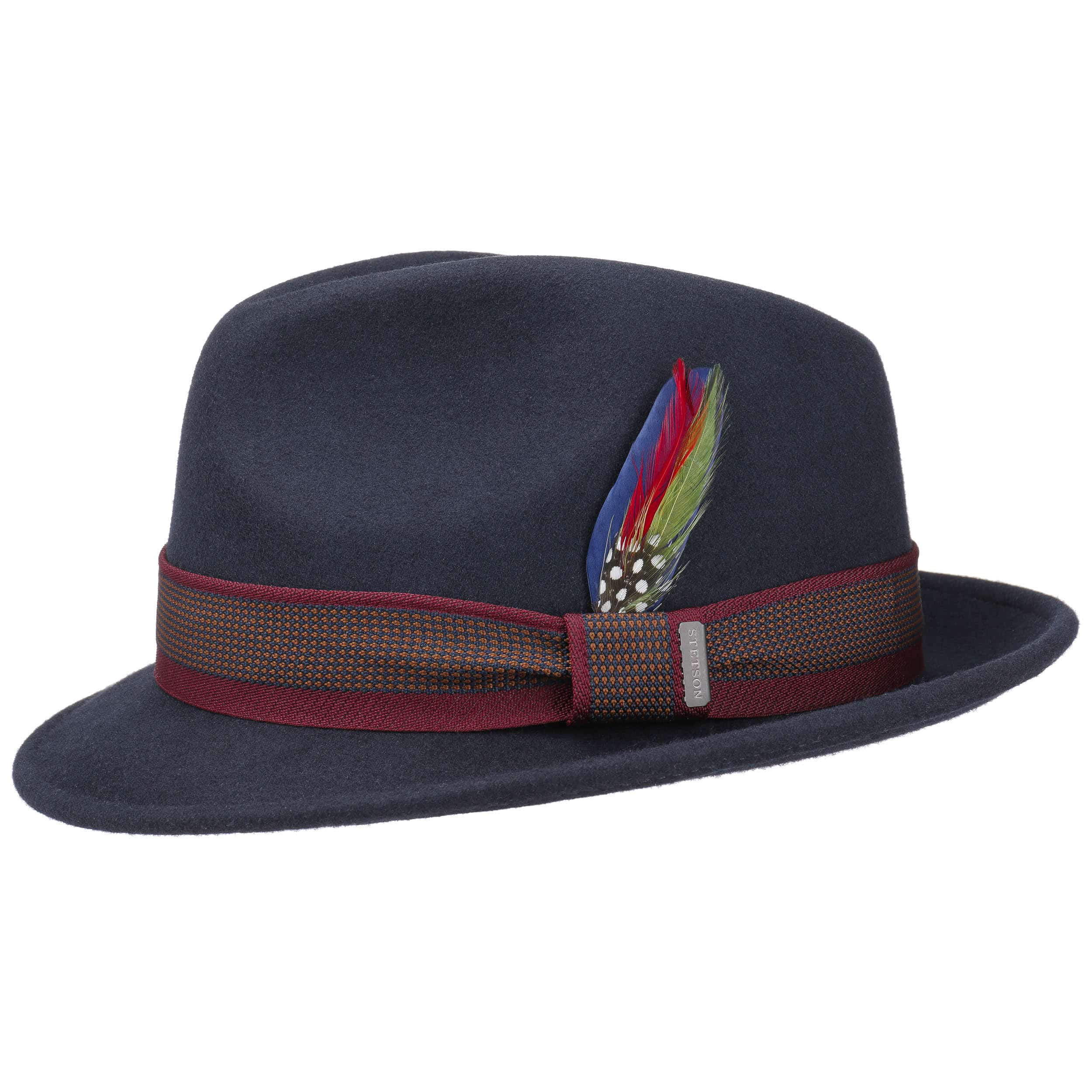 ... Cappello di Feltro Wyoming Player by Stetson - blu scuro 1 ... fd0299da2e3d