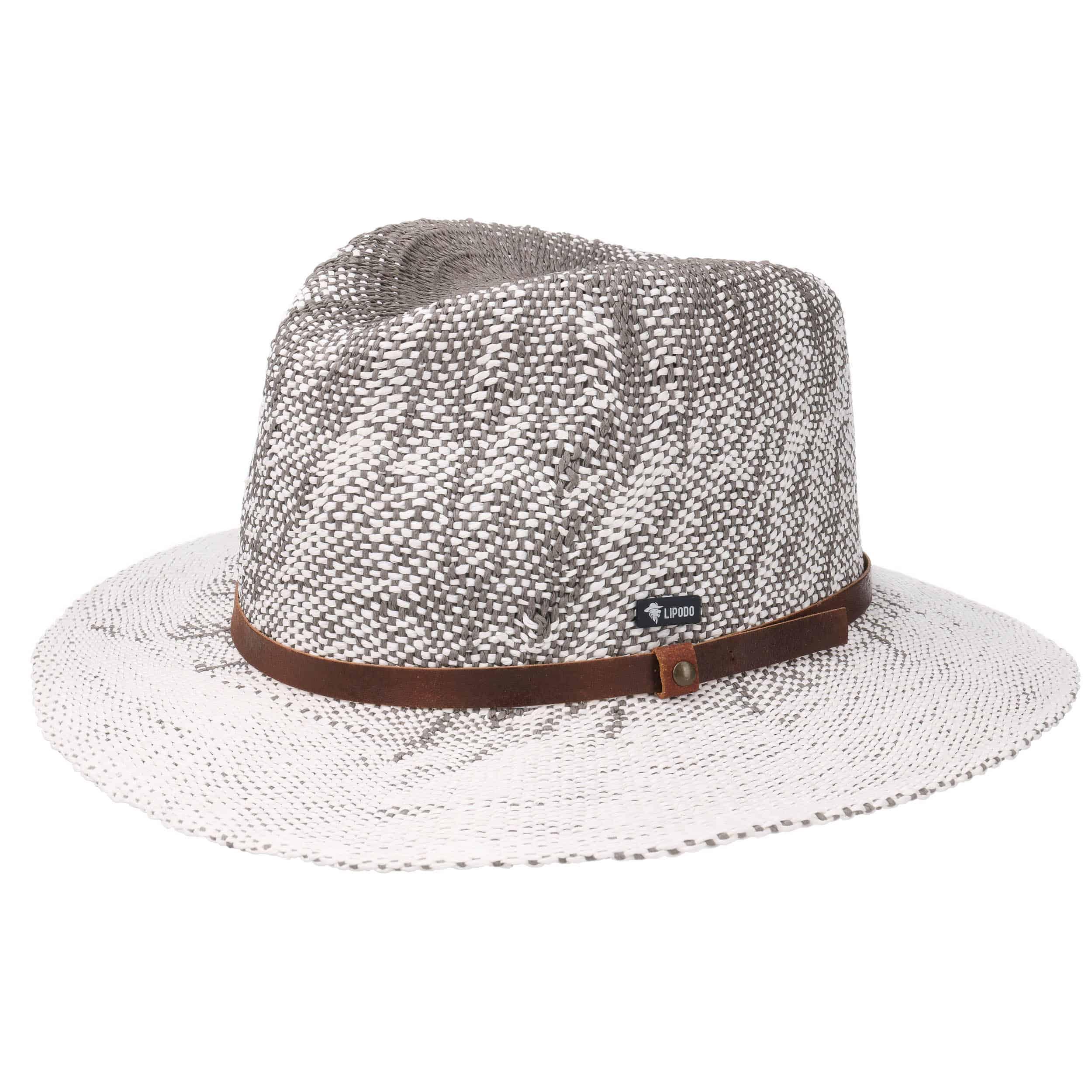 ... Cappello di Paglia Harkeyville Twotone by Lipodo - grigio 5 ... 89b3ea123abd